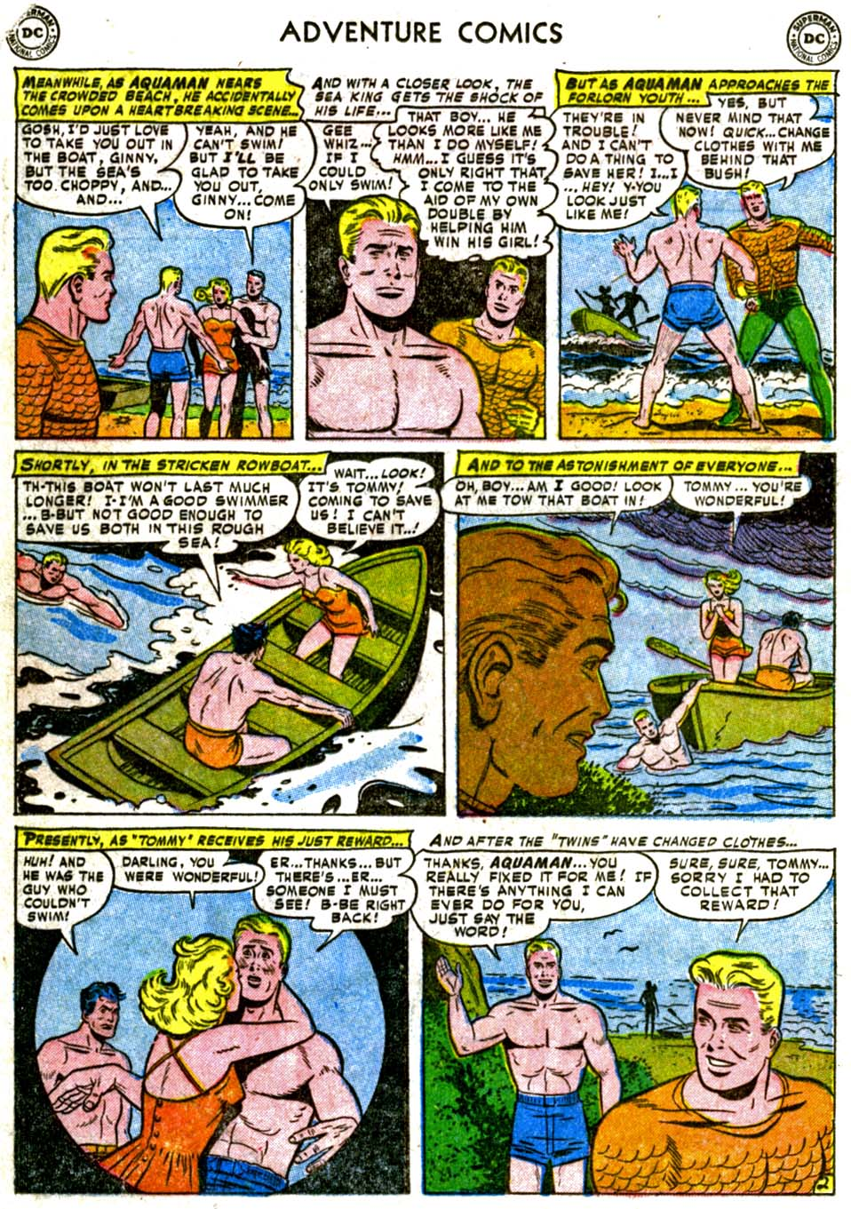 Read online Adventure Comics (1938) comic -  Issue #177 - 18