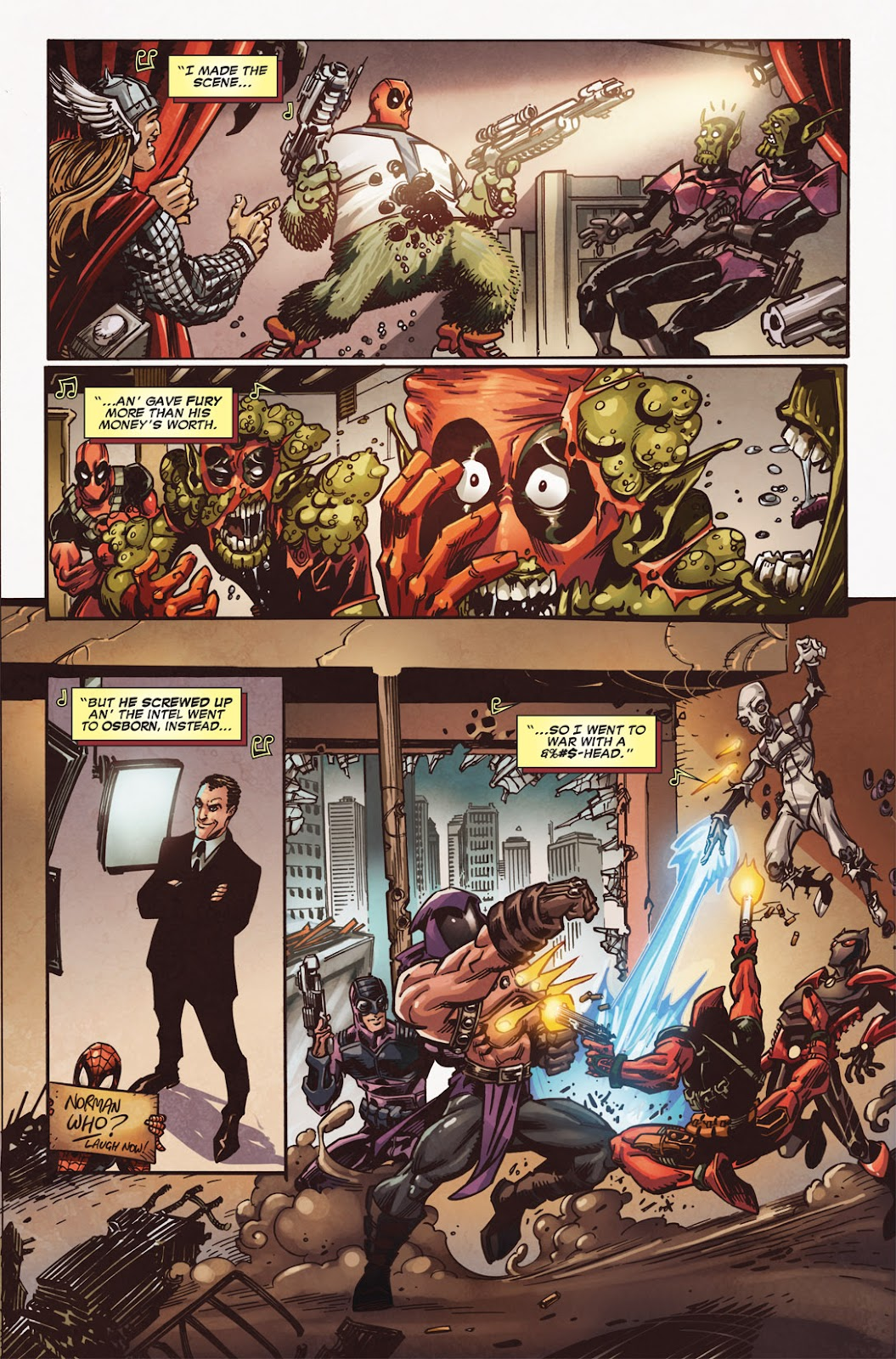 Read online Deadpool (2008) comic -  Issue #49.1 - 9