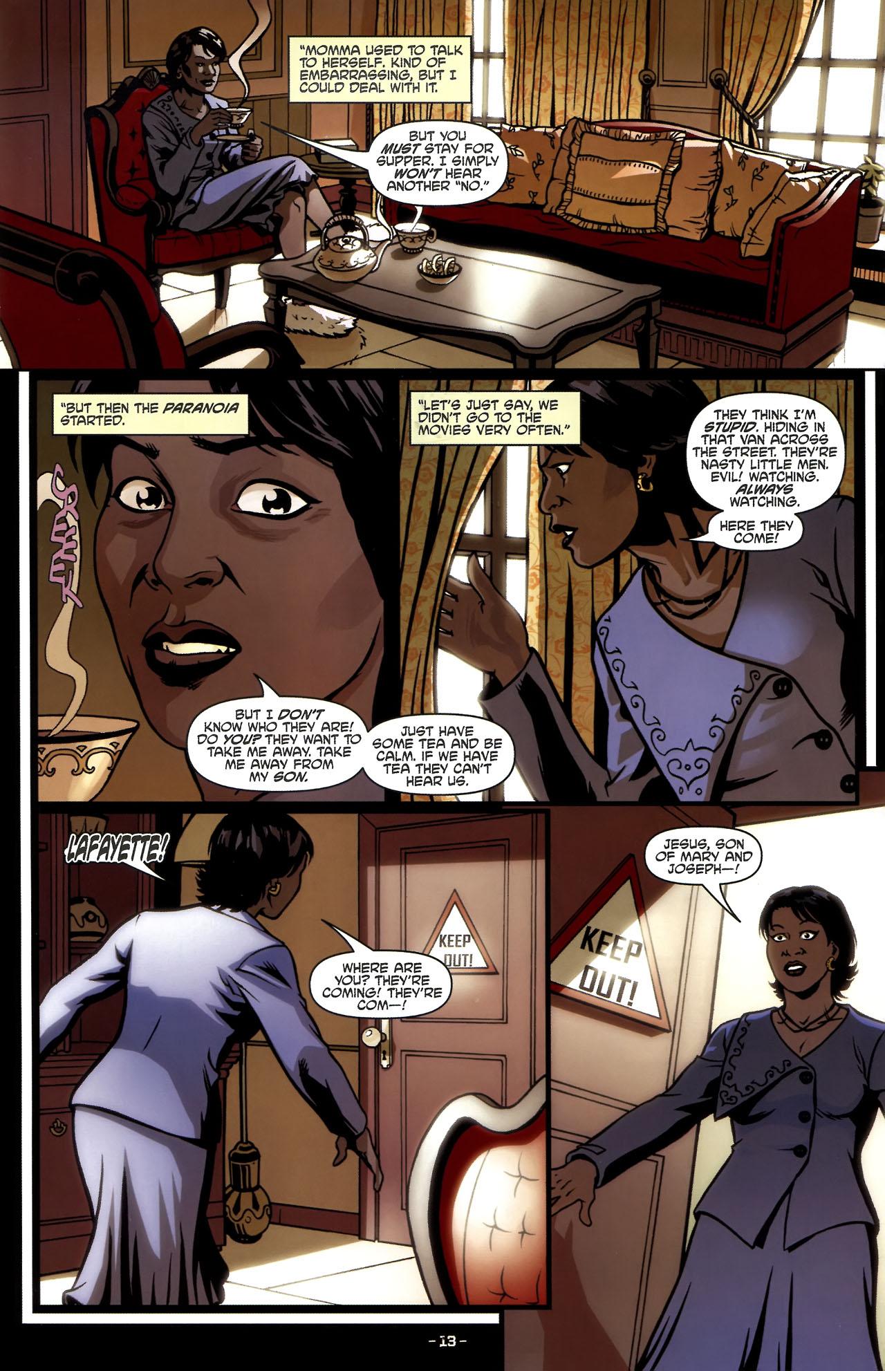 Read online True Blood (2010) comic -  Issue #5 - 16