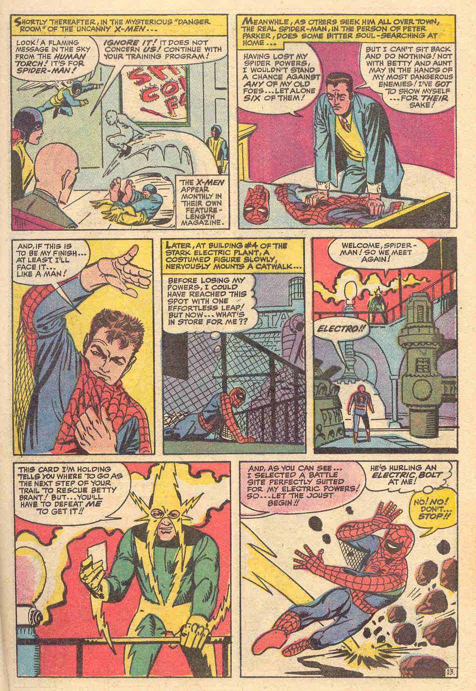 The Amazing Spider-Man (1963) _Annual_6 Page 13