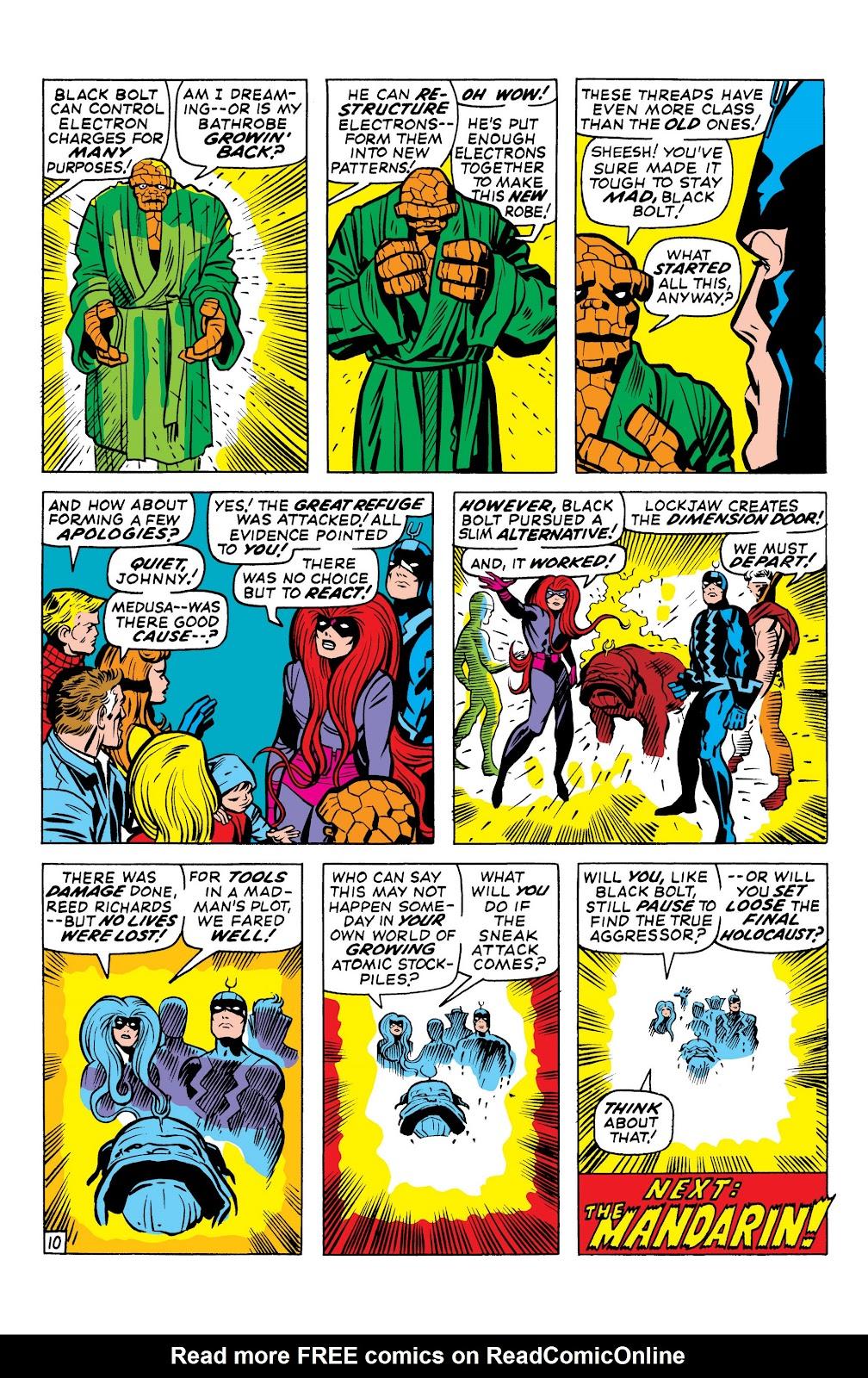 Read online Marvel Masterworks: The Inhumans comic -  Issue # TPB 1 (Part 1) - 90