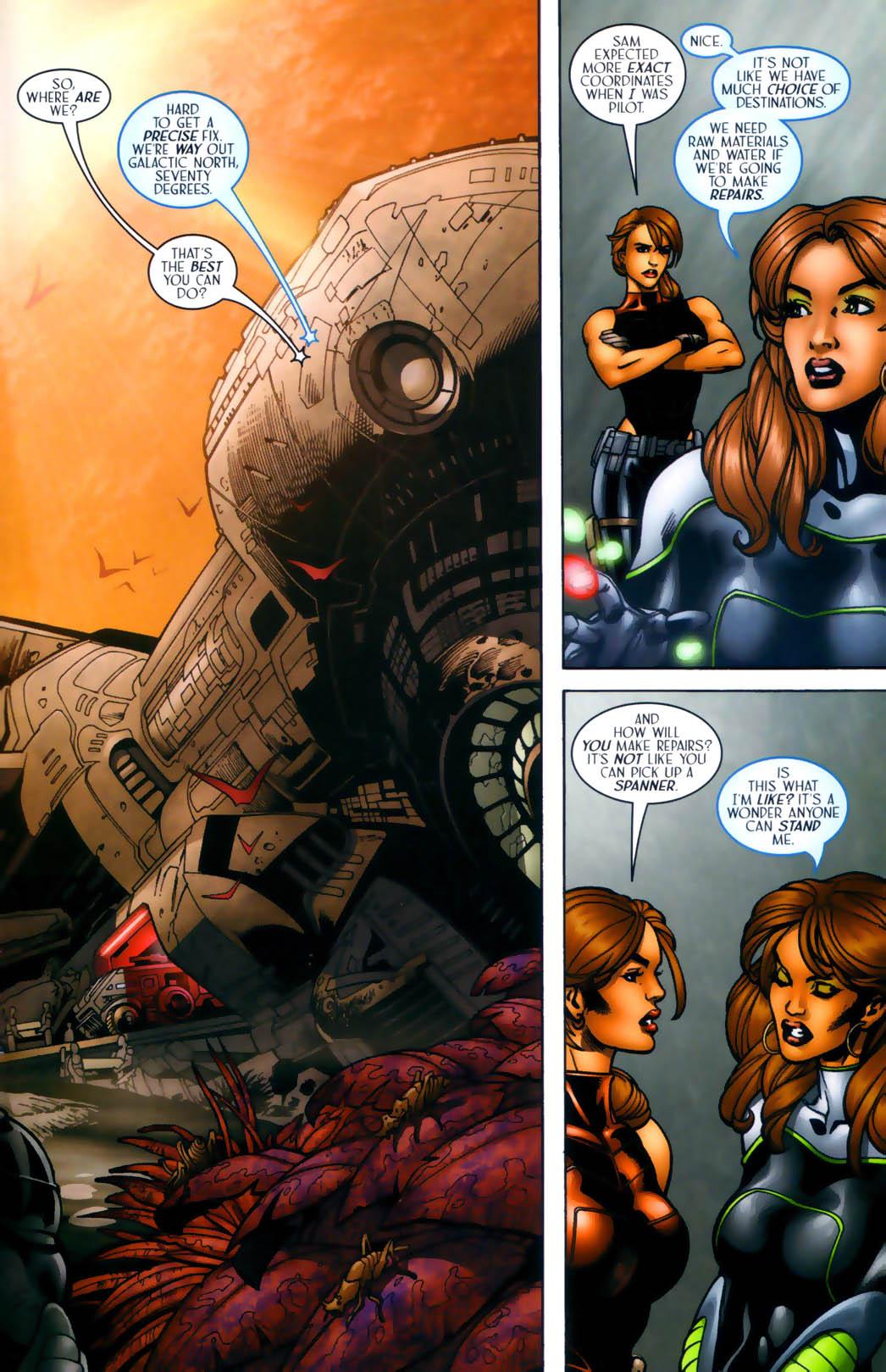 Read online Sigil (2000) comic -  Issue #30 - 24