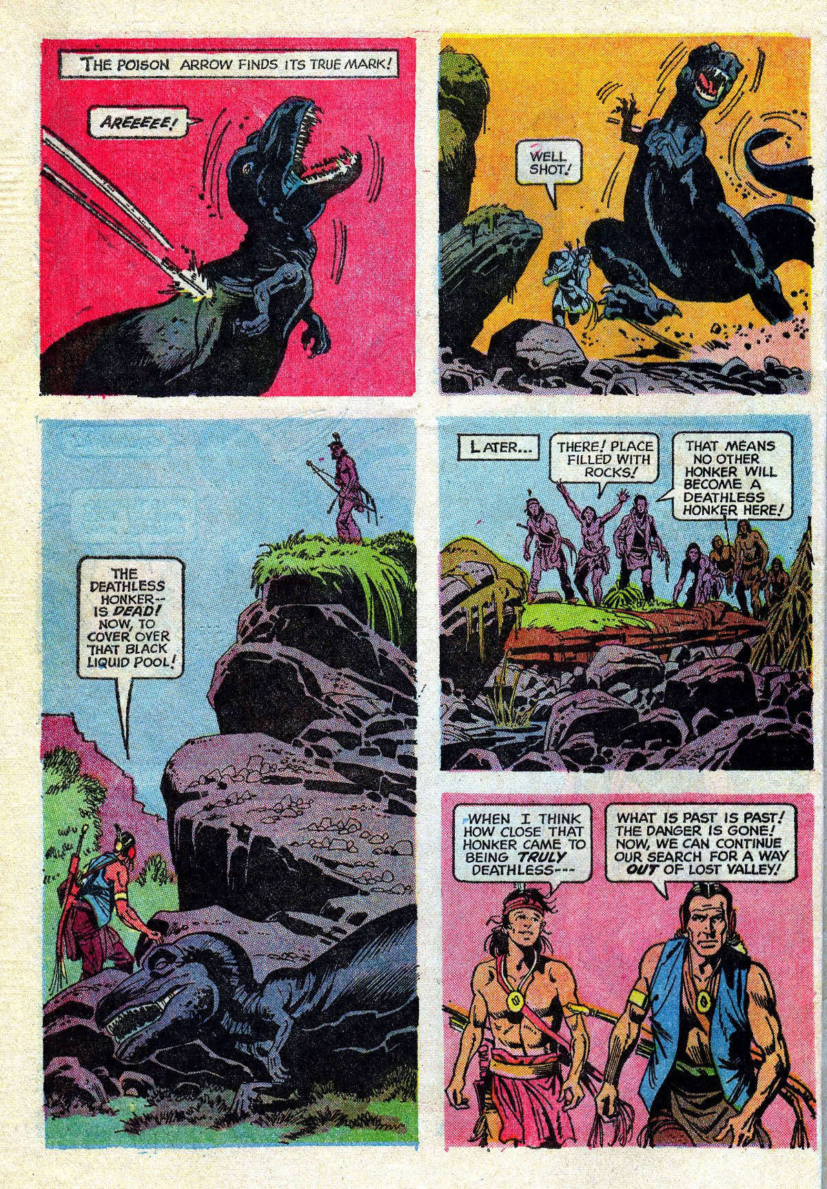 Read online Turok, Son of Stone comic -  Issue #72 - 32