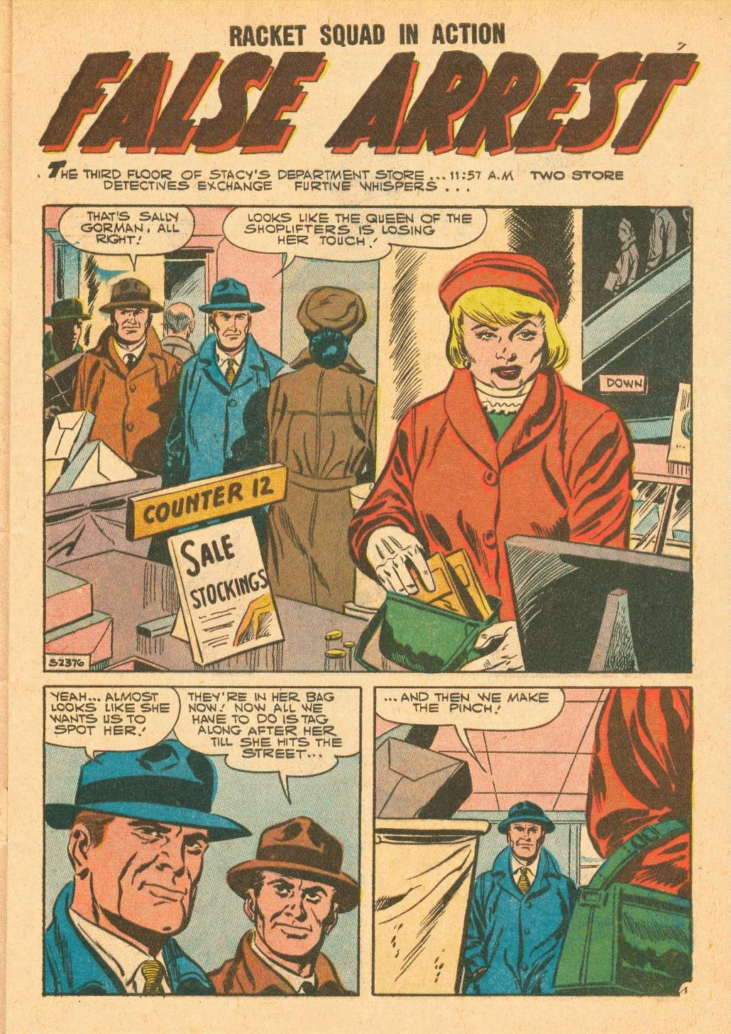 Read online Racket Squad in Action comic -  Issue #27 - 9
