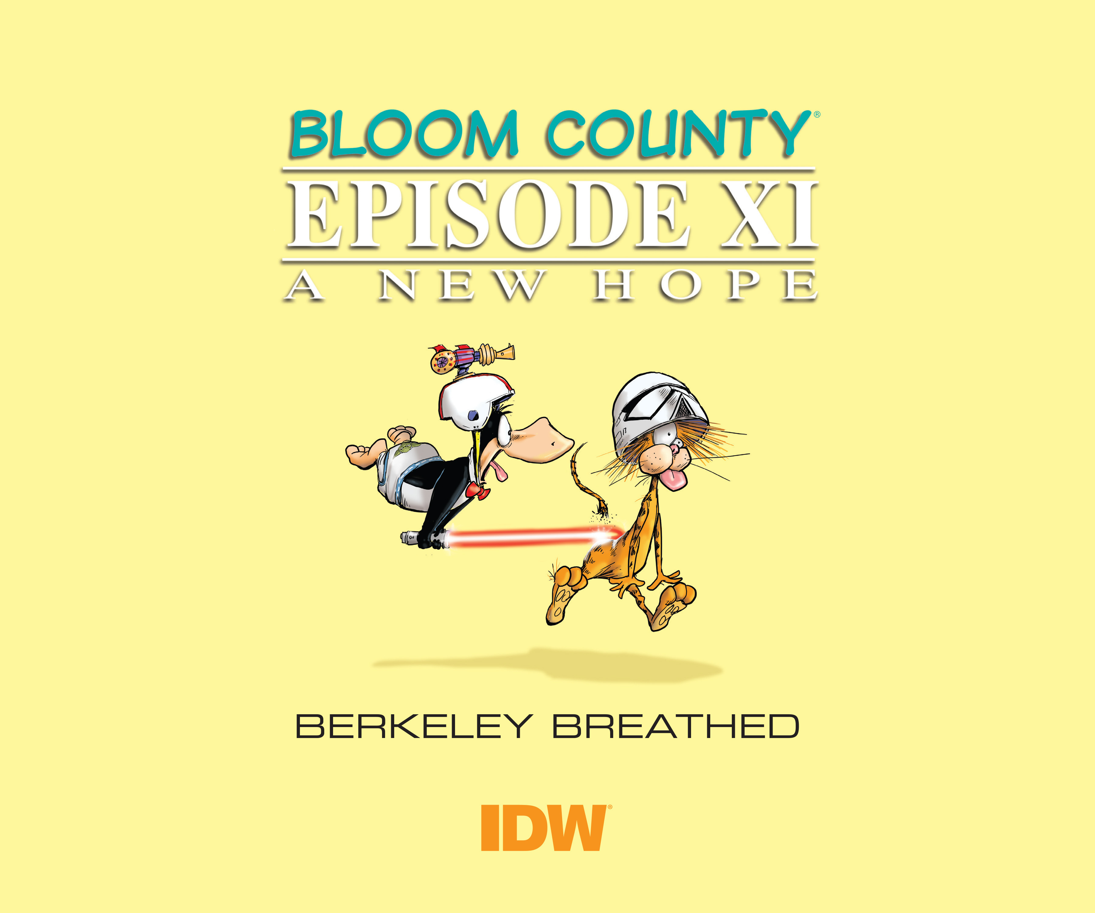 Read online Bloom County Episode XI: A New Hope comic -  Issue # Full - 3