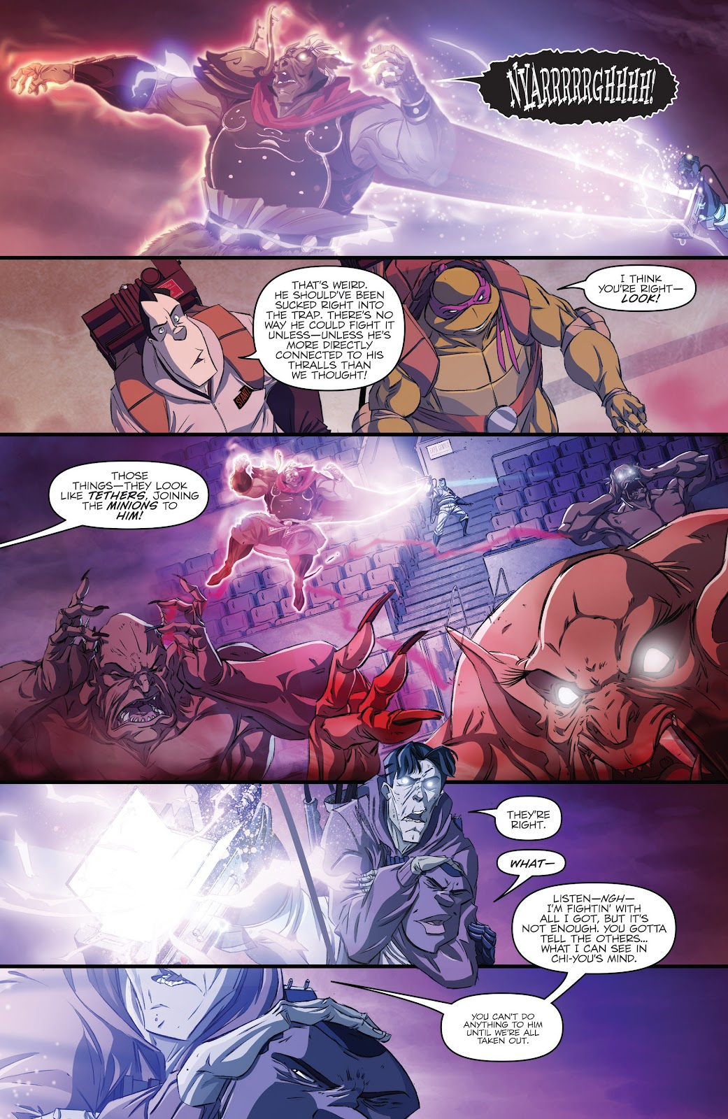 Read online Teenage Mutant Ninja Turtles: The IDW Collection comic -  Issue # TPB 5 (Part 3) - 22