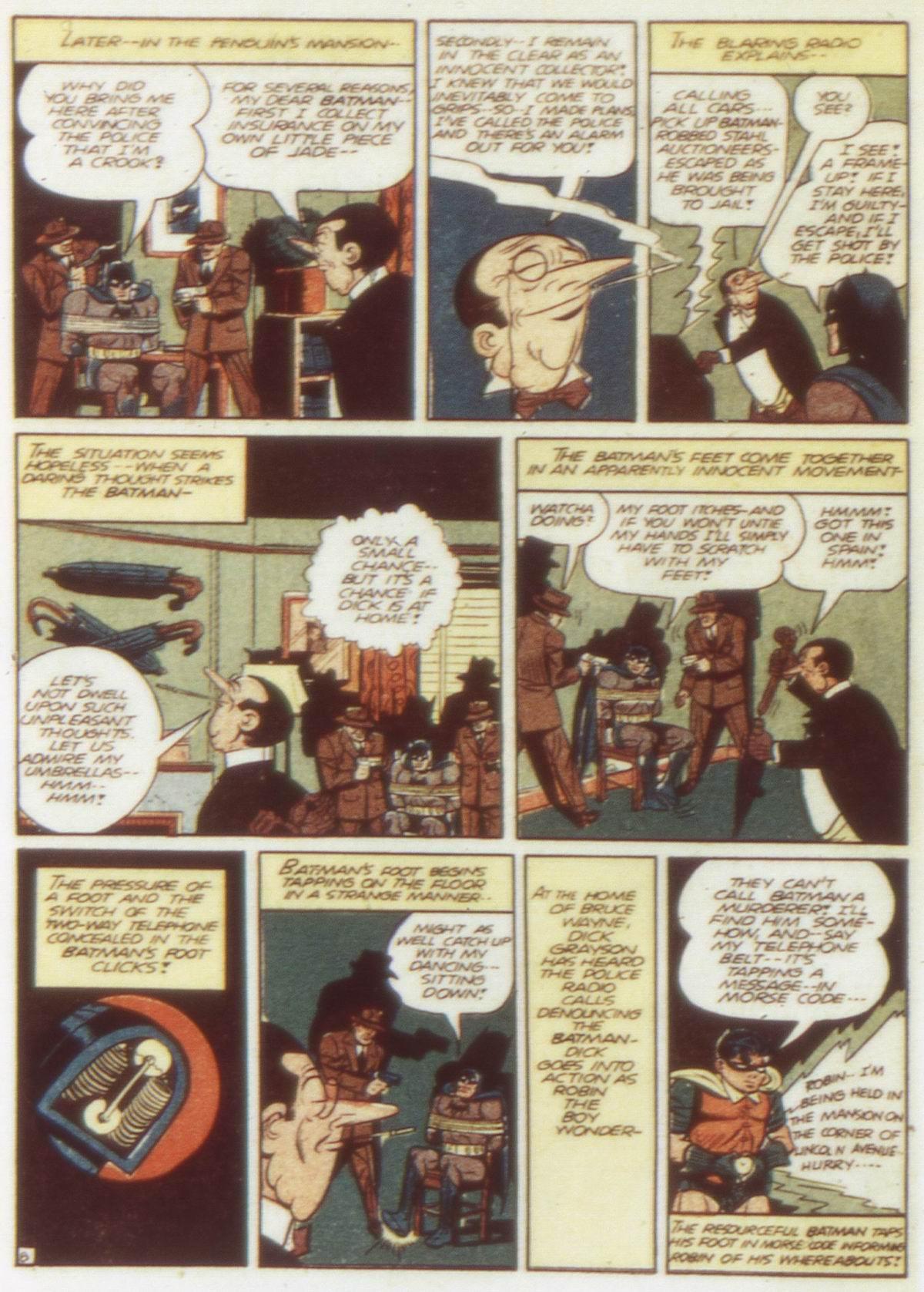 Read online Detective Comics (1937) comic -  Issue #58 - 10