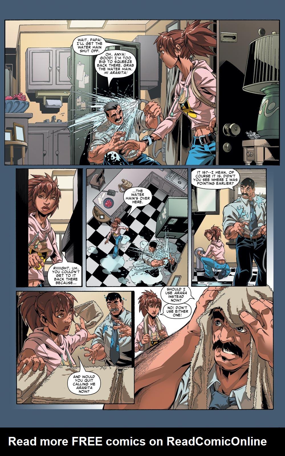 Read online Amazing Fantasy (2004) comic -  Issue #1 - 12