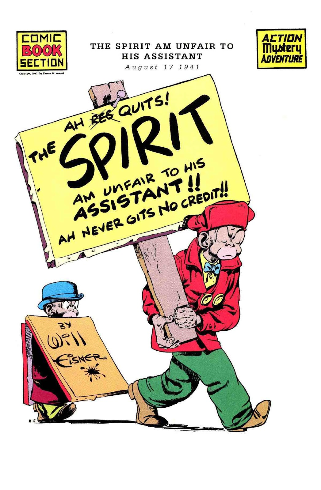 Read online Will Eisner's The Spirit Archives comic -  Issue # TPB 3 (Part 1) - 50