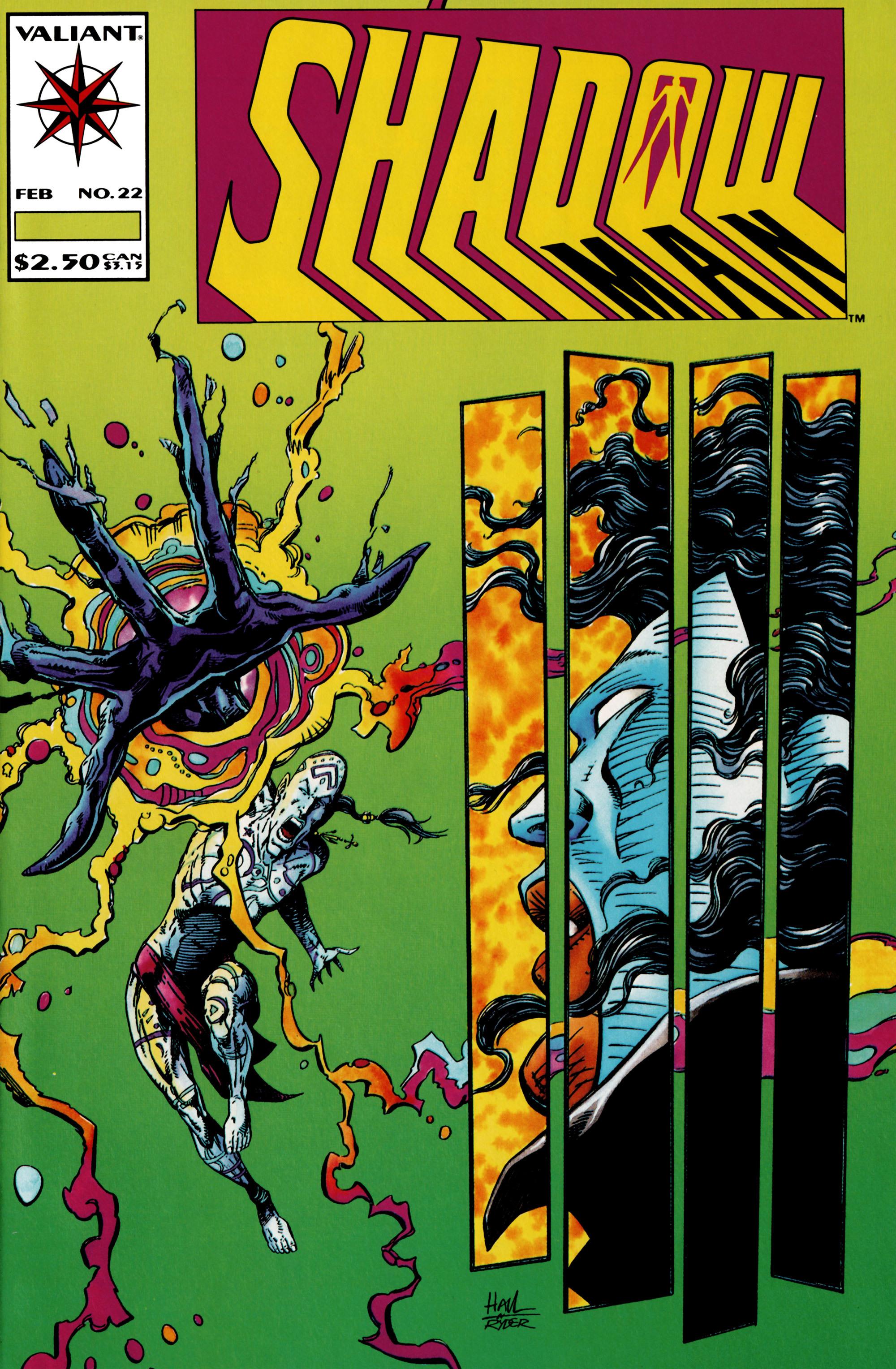 Read online Shadowman (1992) comic -  Issue #22 - 1