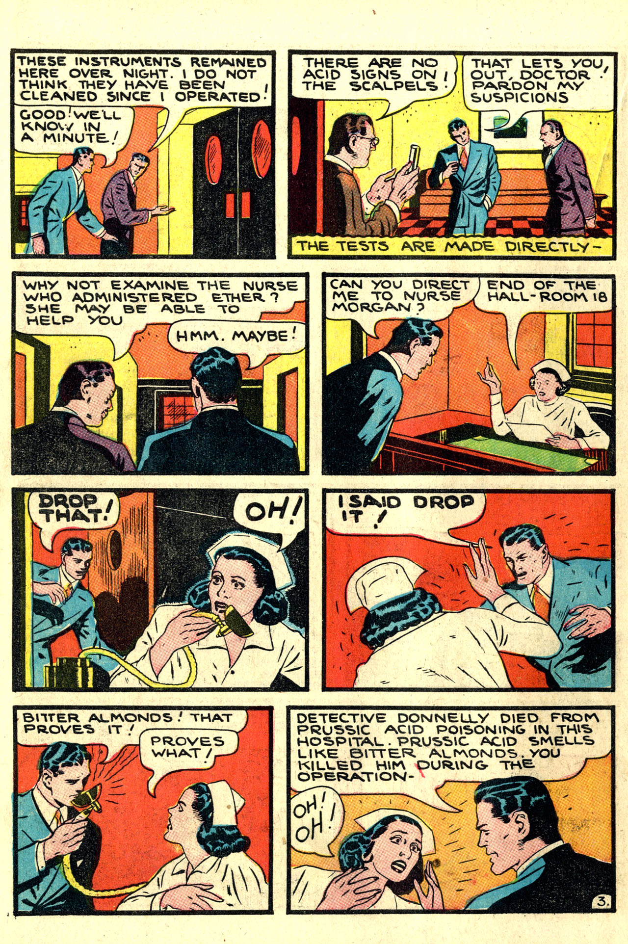 Read online Detective Comics (1937) comic -  Issue #44 - 46