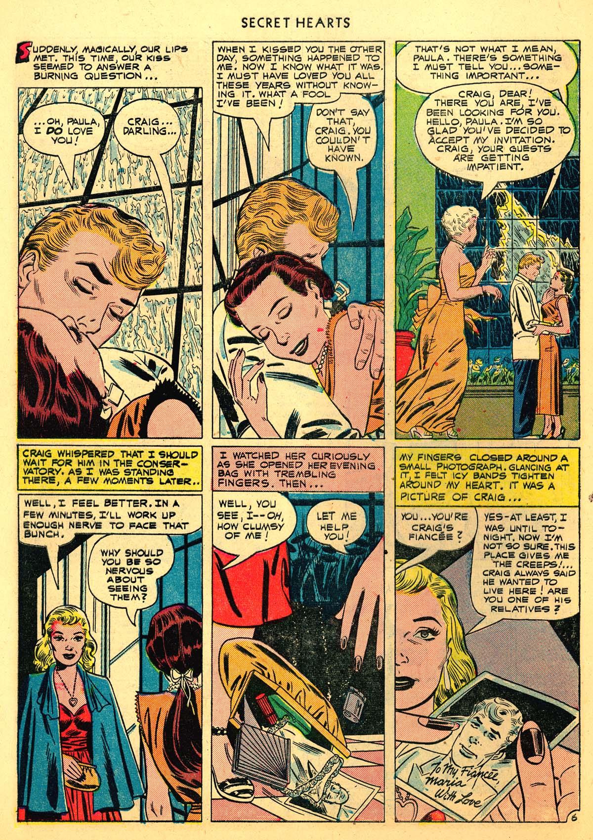 Read online Secret Hearts comic -  Issue #6 - 8