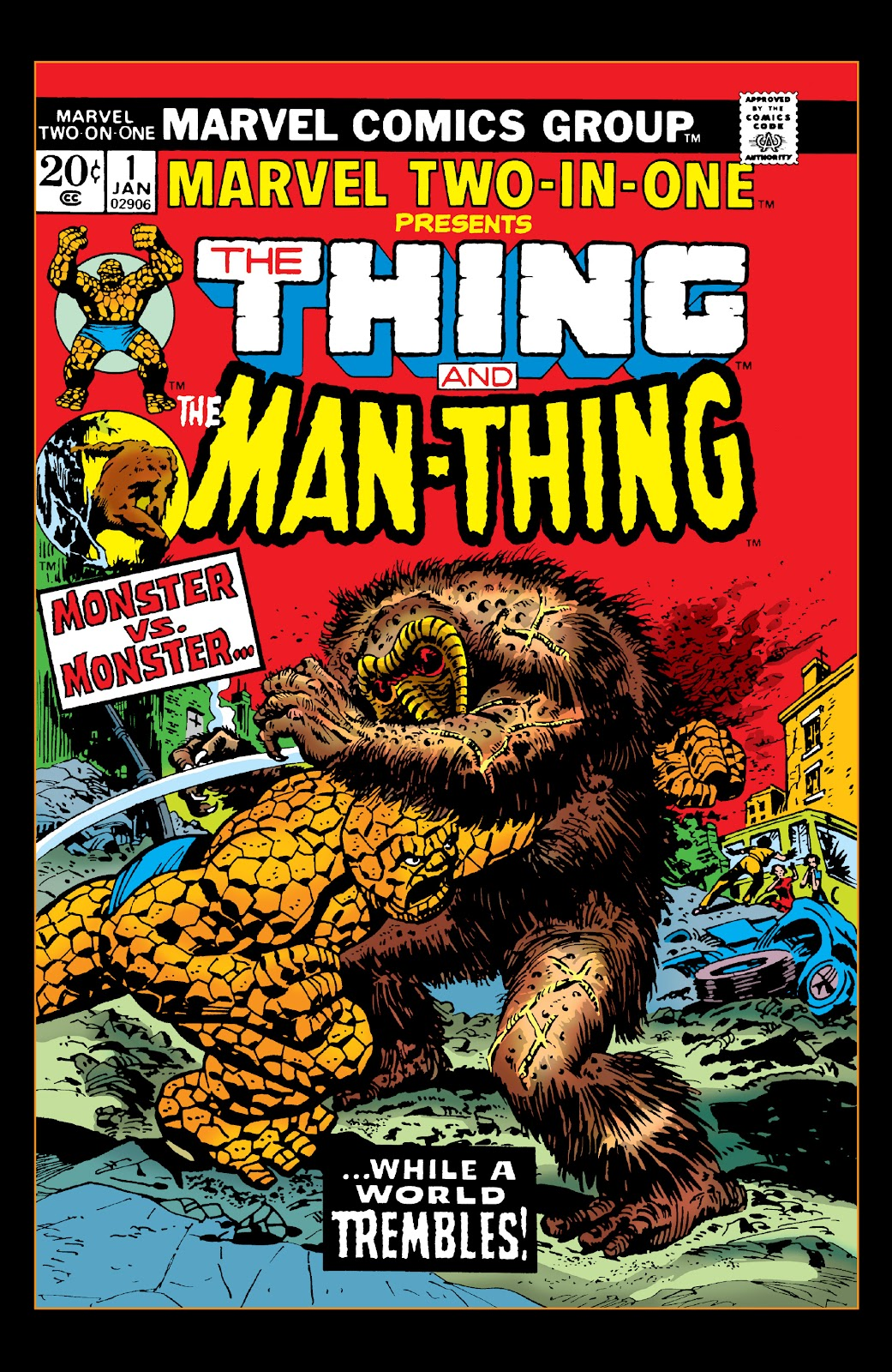 Read online Marvel Two-In-One Epic Collection: Cry Monster comic -  Issue # TPB (Part 1) - 45