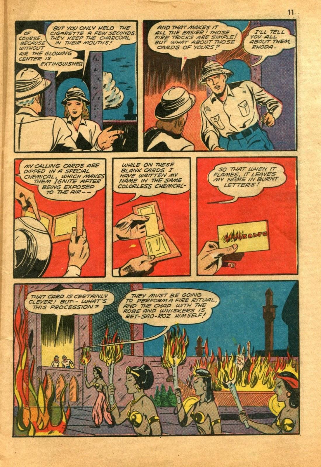 Read online Super-Magician Comics comic -  Issue #11 - 11