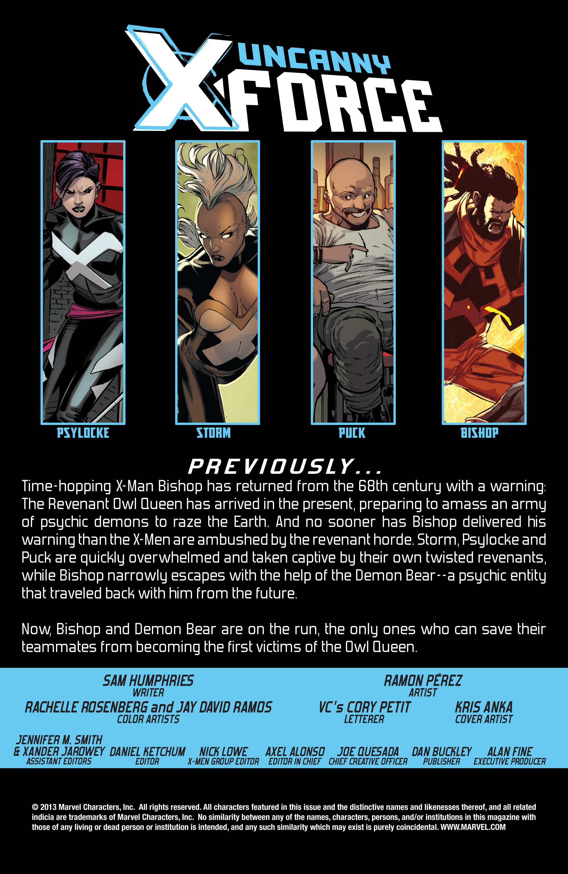 Read online Uncanny X-Force (2013) comic -  Issue #11 - 2