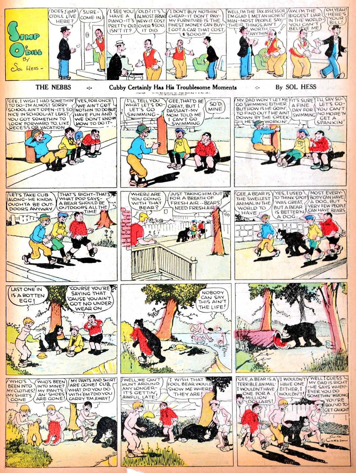 Read online Famous Funnies comic -  Issue #11 - 52