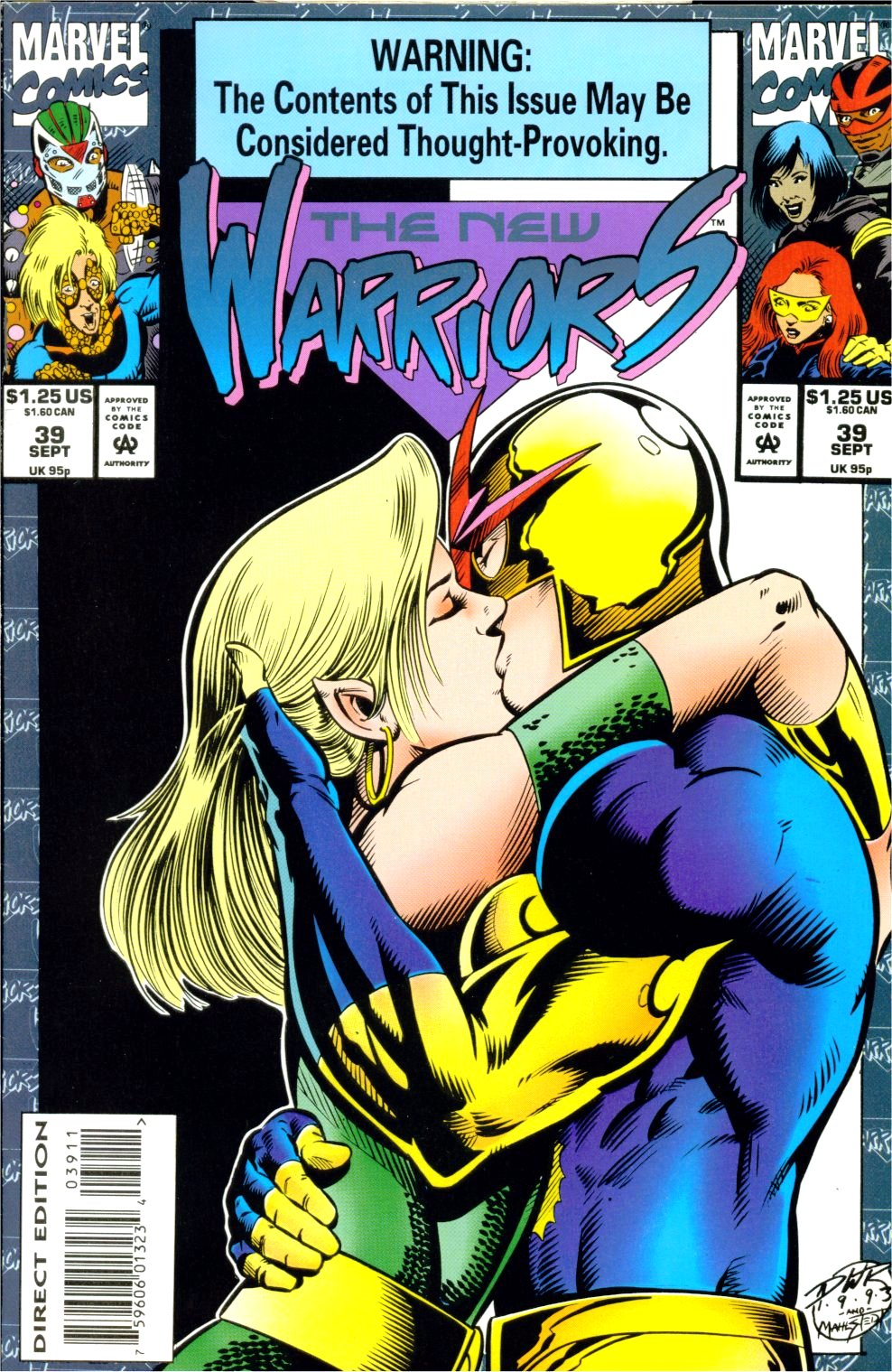 The New Warriors Issue #39 #43 - English 1