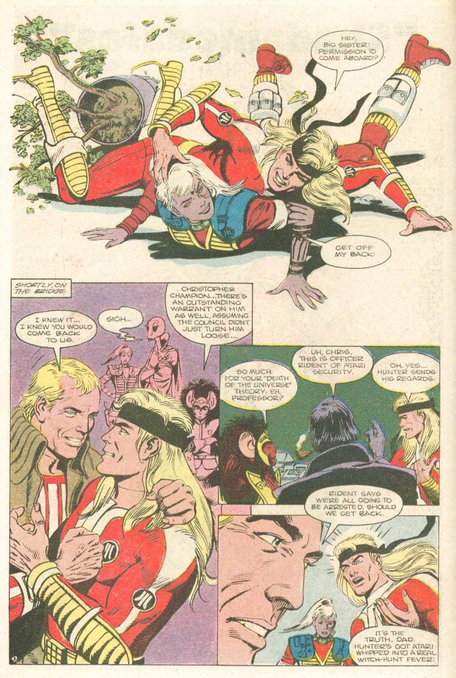 Read online Atari Force (1984) comic -  Issue #18 - 11