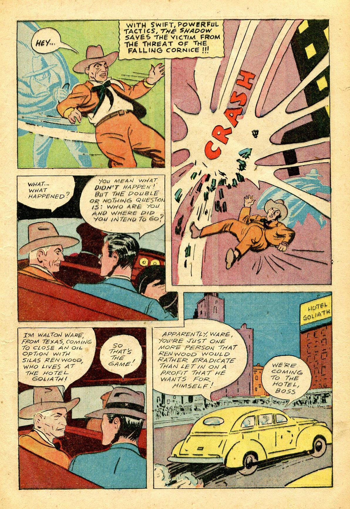 Read online Shadow Comics comic -  Issue #51 - 14