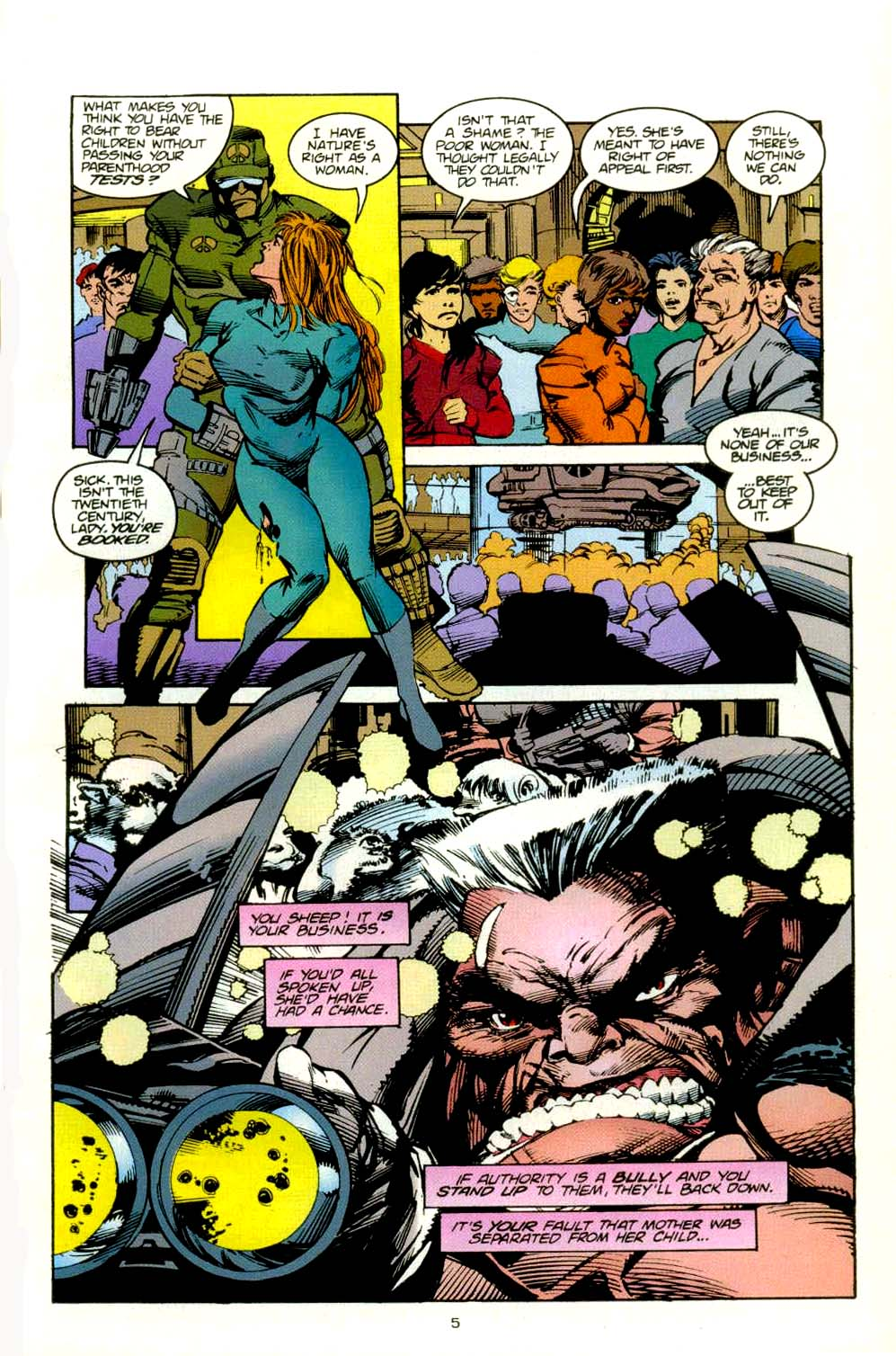 Read online 2099 Unlimited comic -  Issue #8 - 6