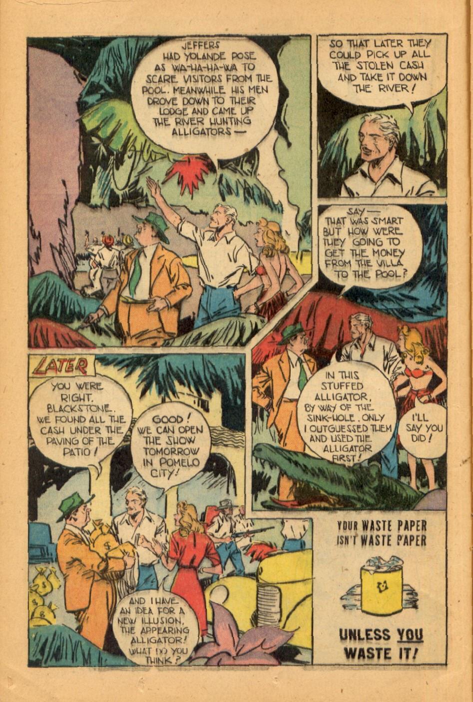 Read online Super-Magician Comics comic -  Issue #45 - 16