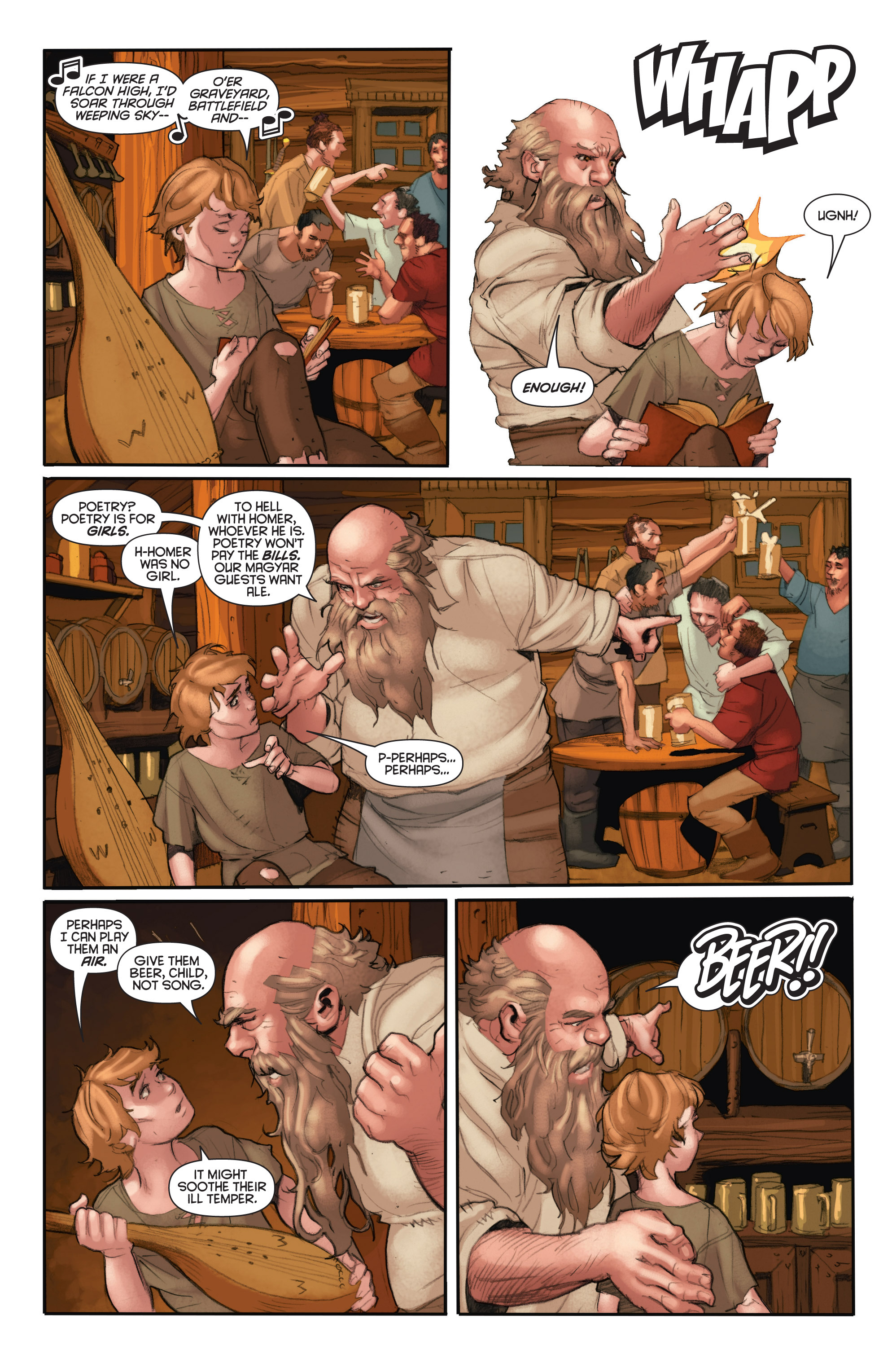 Read online Eternal Warrior: Days of Steel comic -  Issue #2 - 11