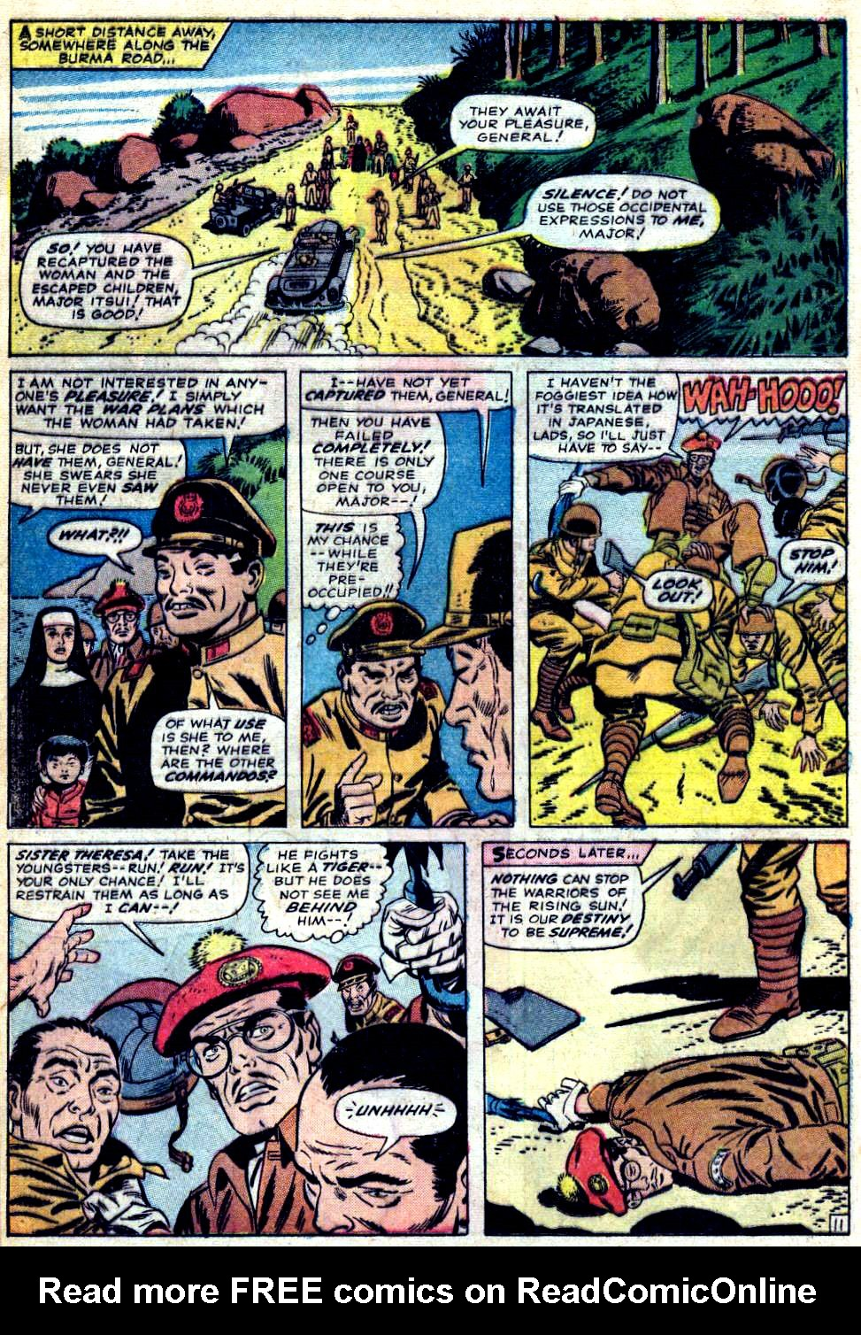 Read online Sgt. Fury comic -  Issue #23 - 16