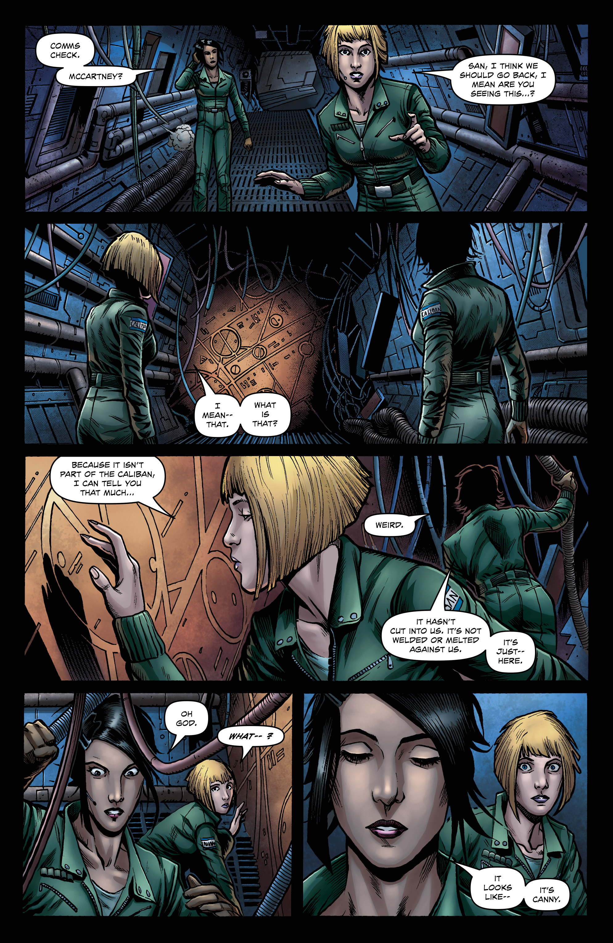 Read online Caliban comic -  Issue #1 - 21
