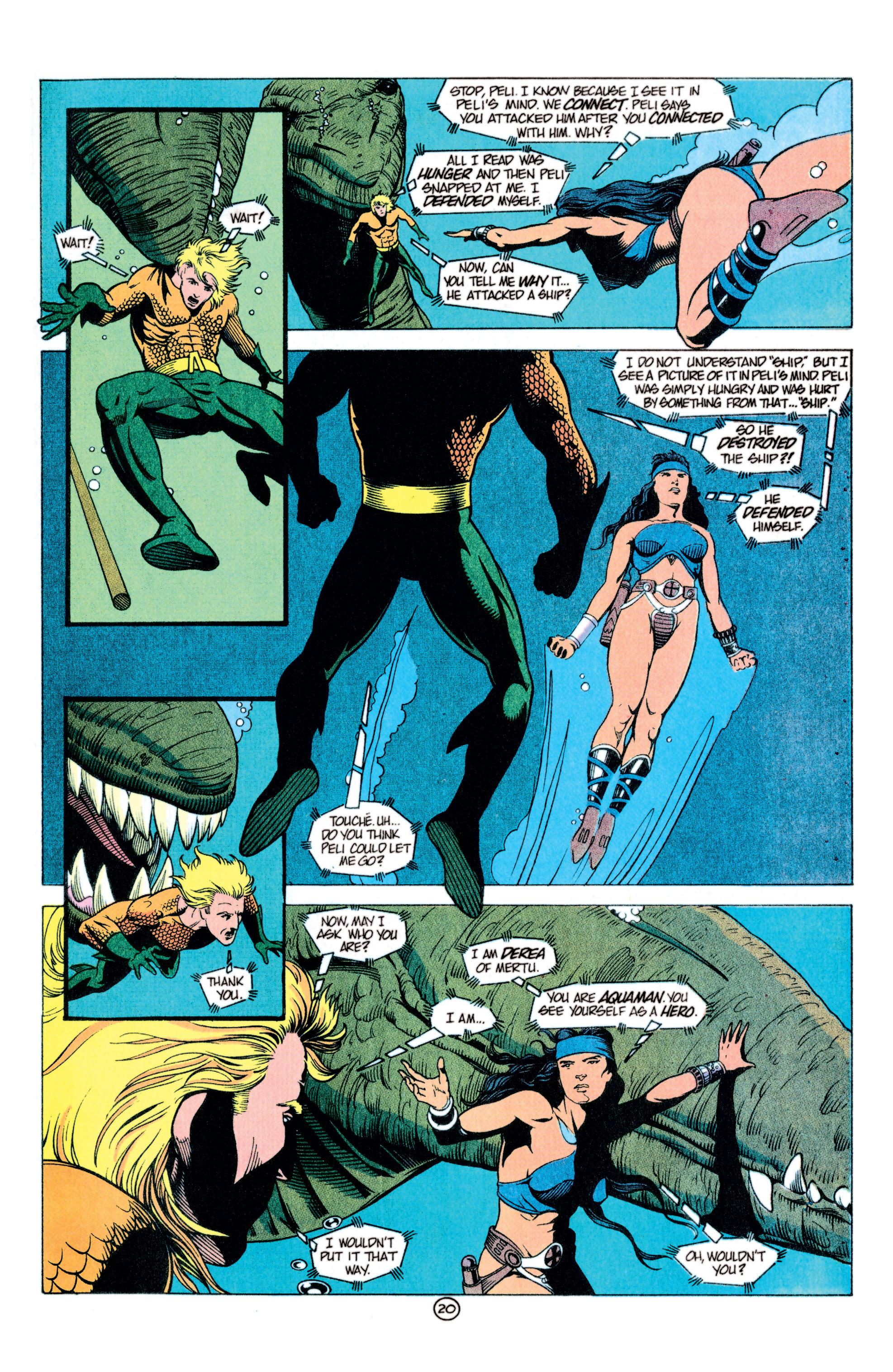Read online Aquaman (1991) comic -  Issue #11 - 21
