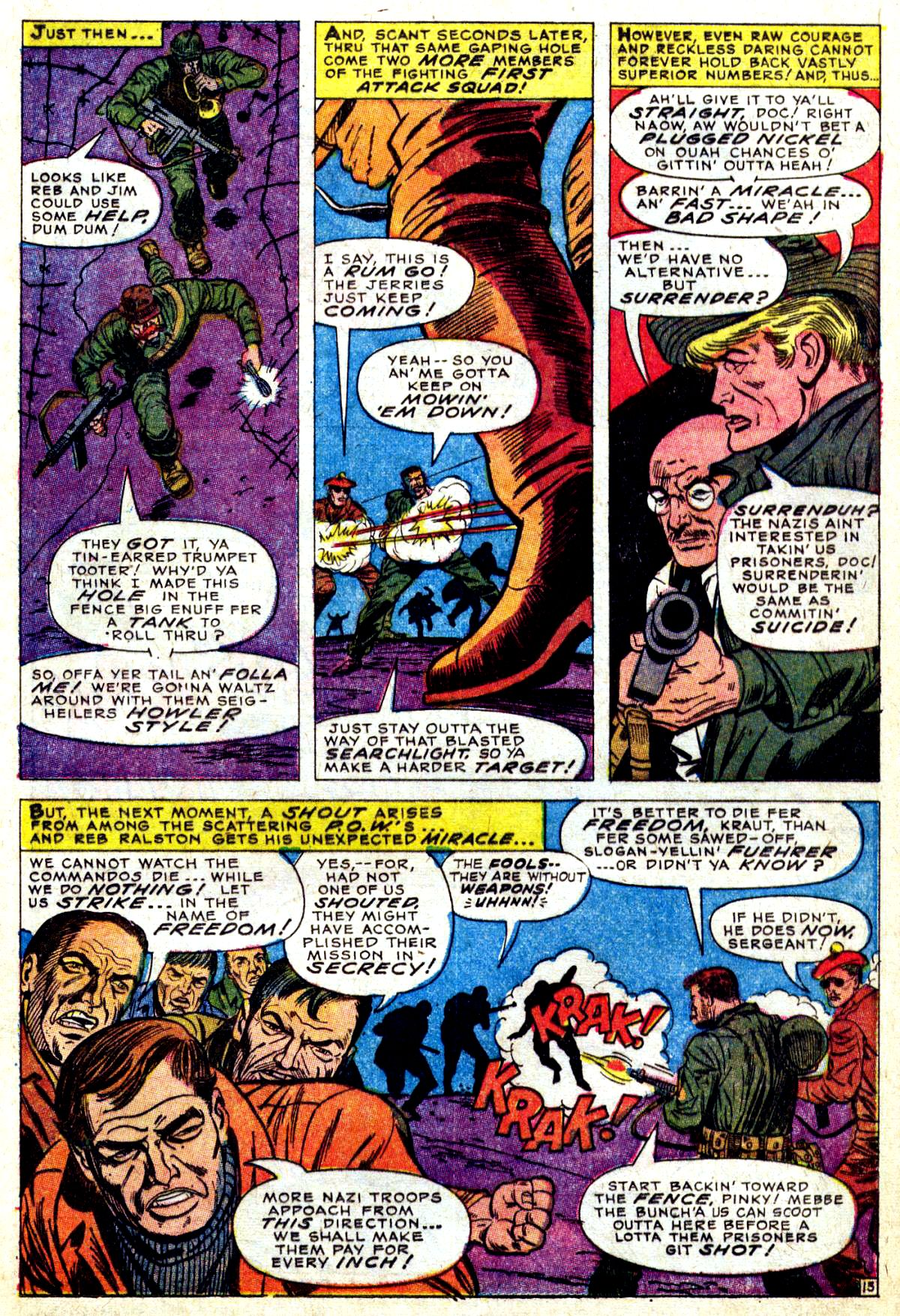 Read online Sgt. Fury comic -  Issue #38 - 21