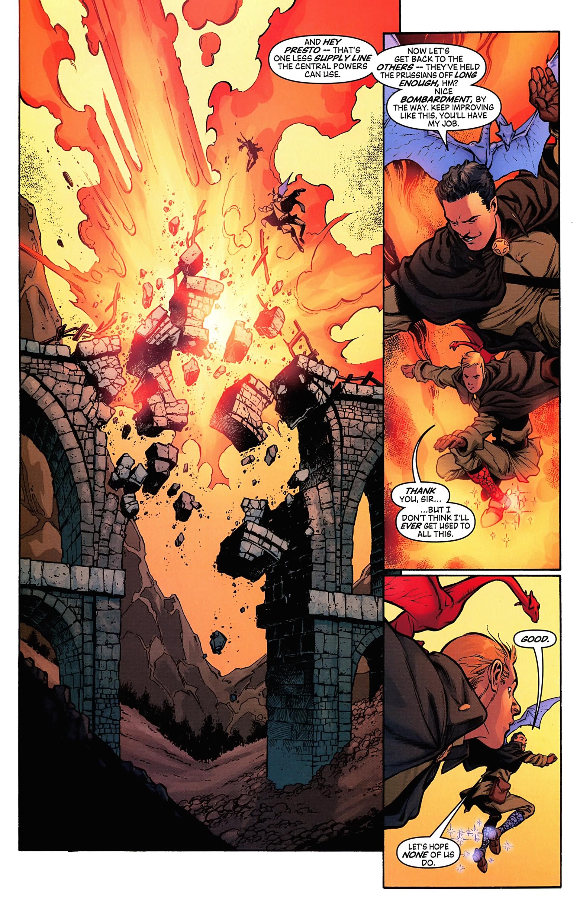 Read online Arrowsmith comic -  Issue #4 - 19