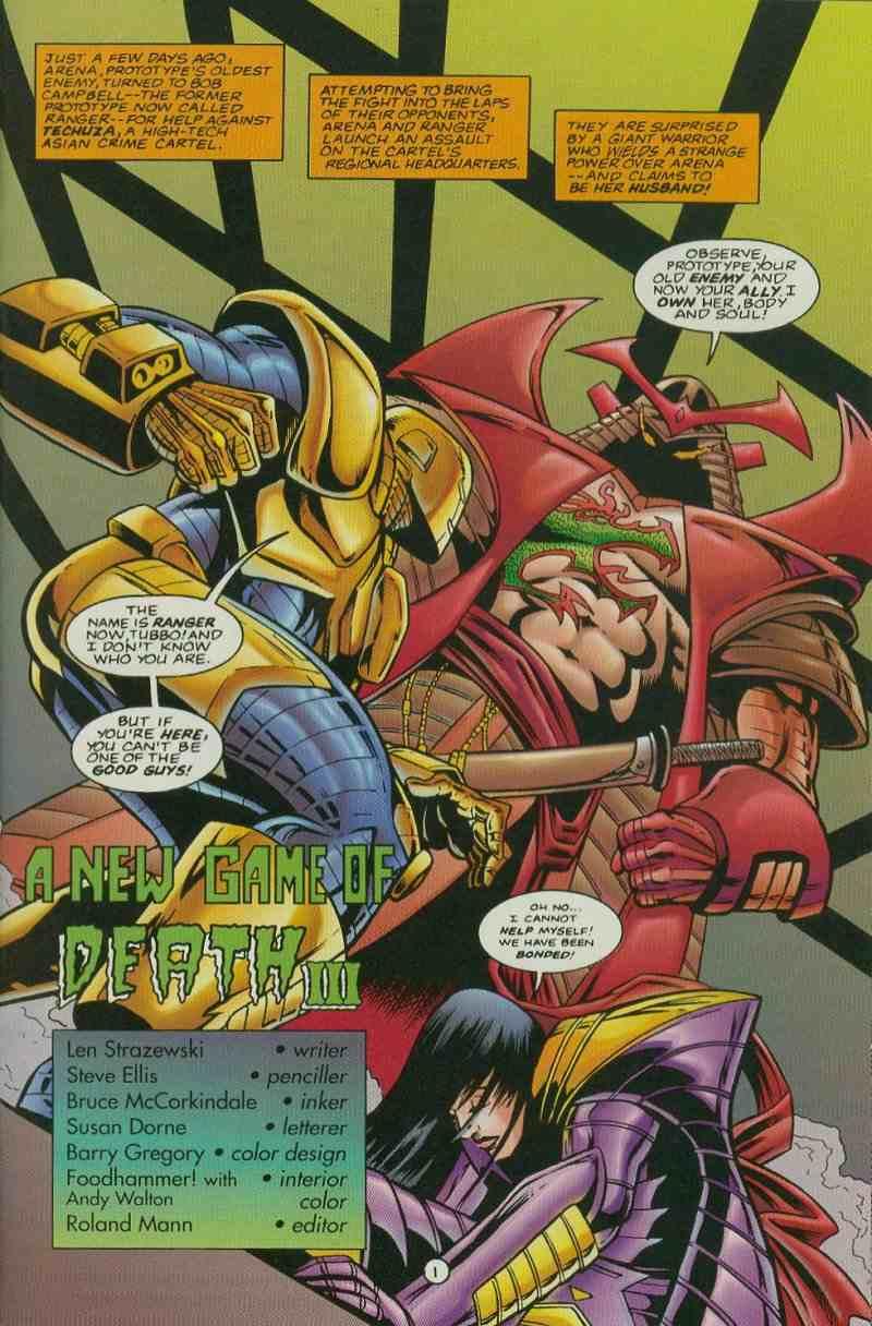 Read online Ultraverse Premiere comic -  Issue #11 - 29