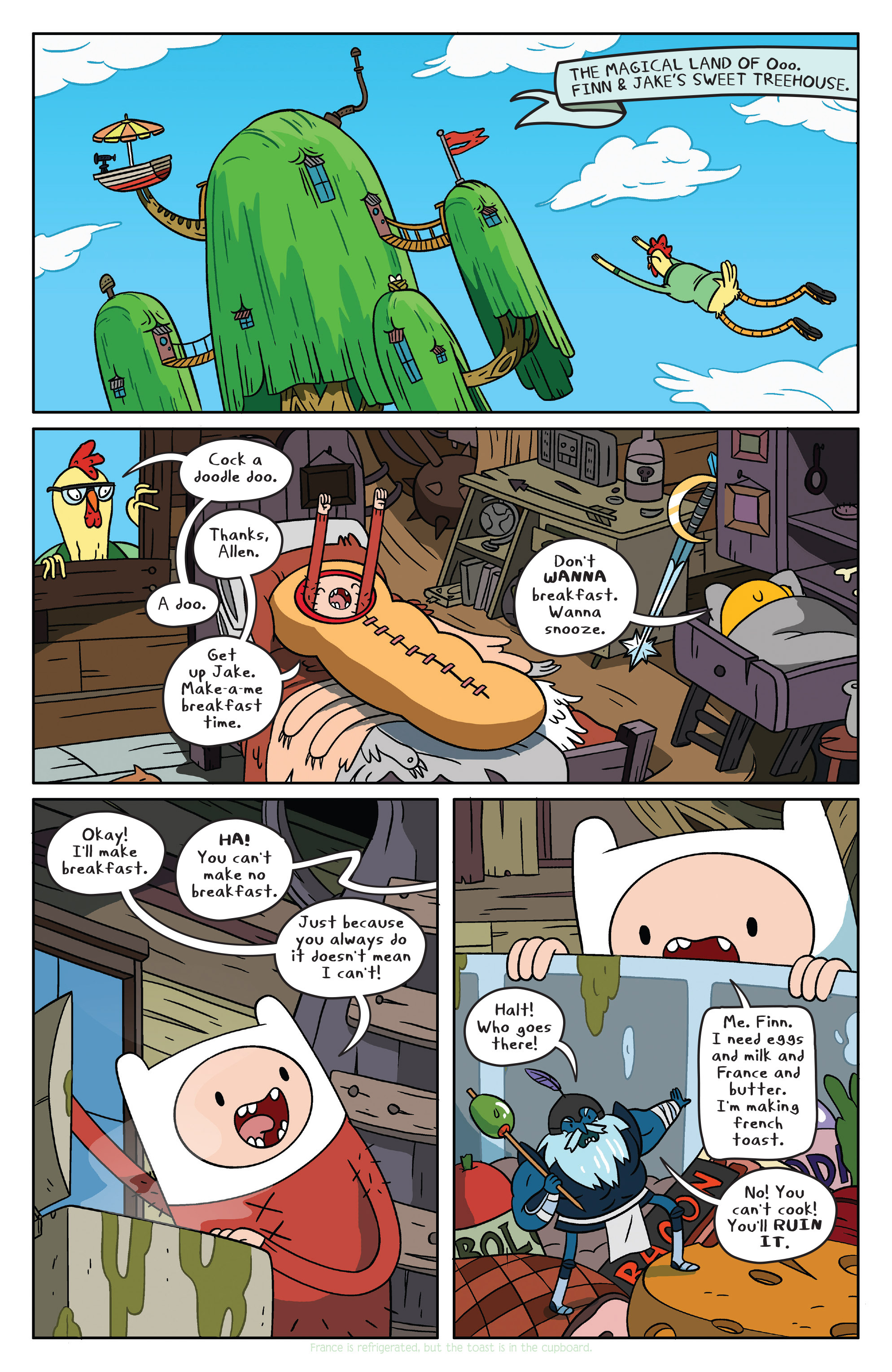 Read online Adventure Time comic -  Issue #37 - 3