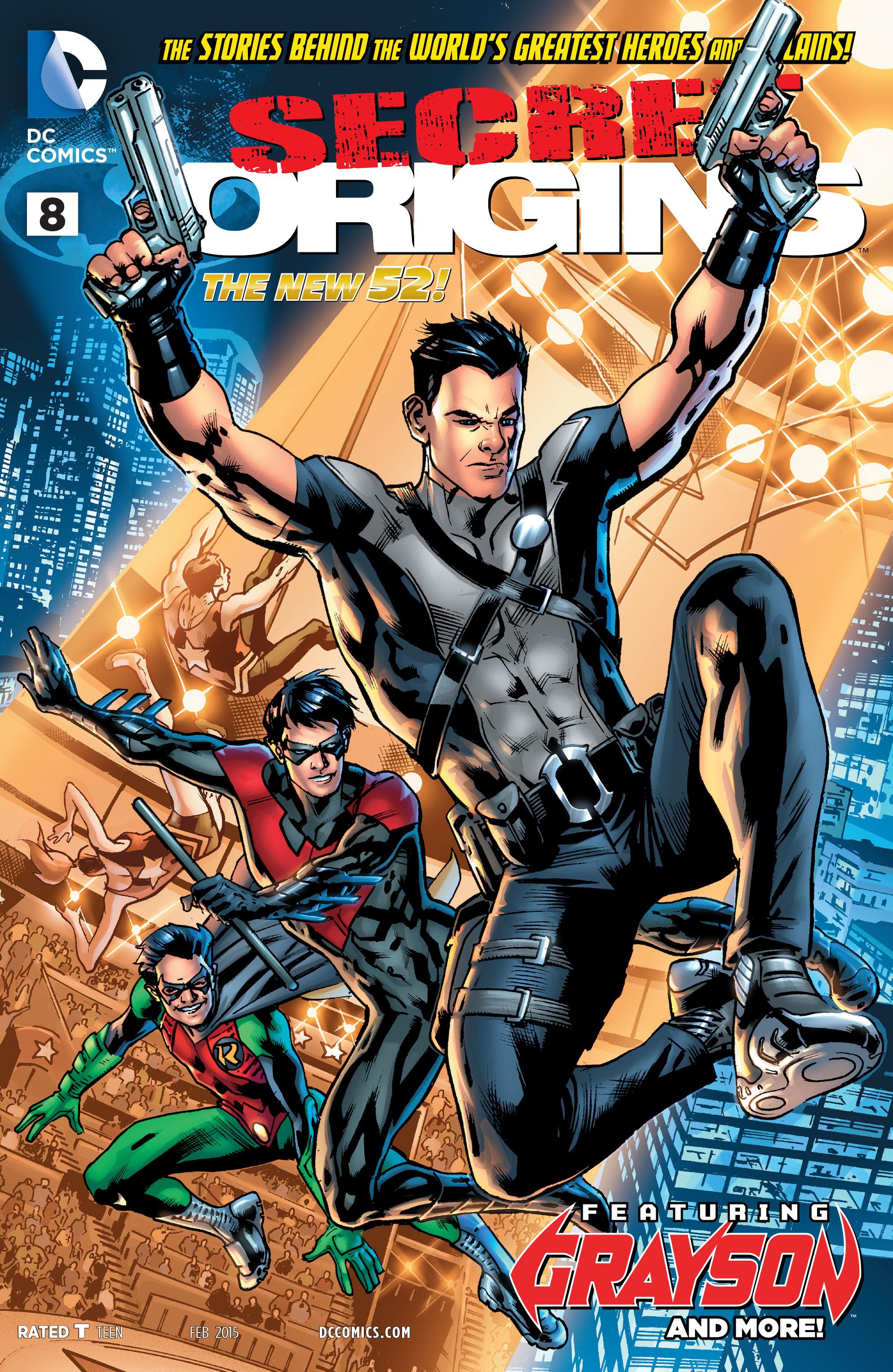 Read online Secret Origins (2014) comic -  Issue #8 - 1