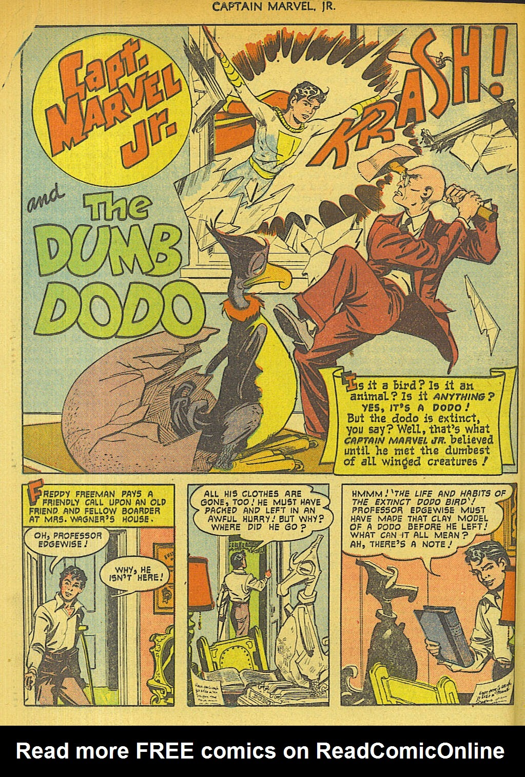 Captain Marvel, Jr. issue 96 - Page 36