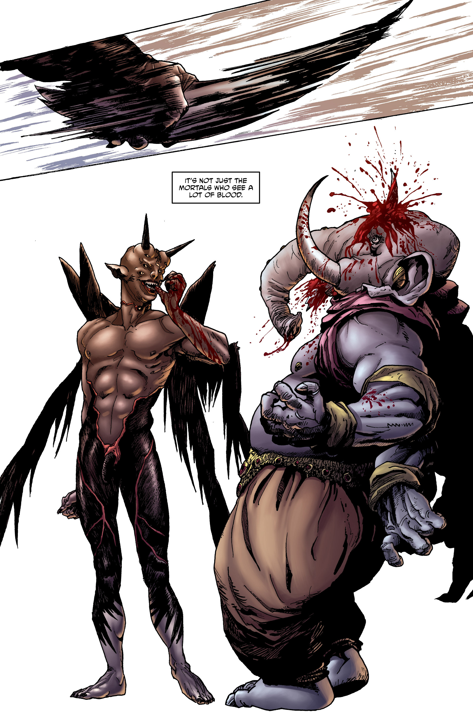 Read online God is Dead: Book of Acts comic -  Issue # Omega - 10