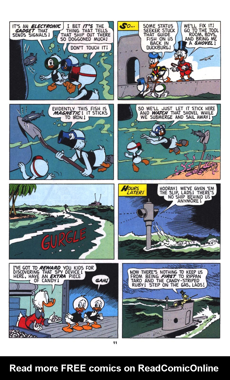 Read online Uncle Scrooge (1953) comic -  Issue #256 - 12