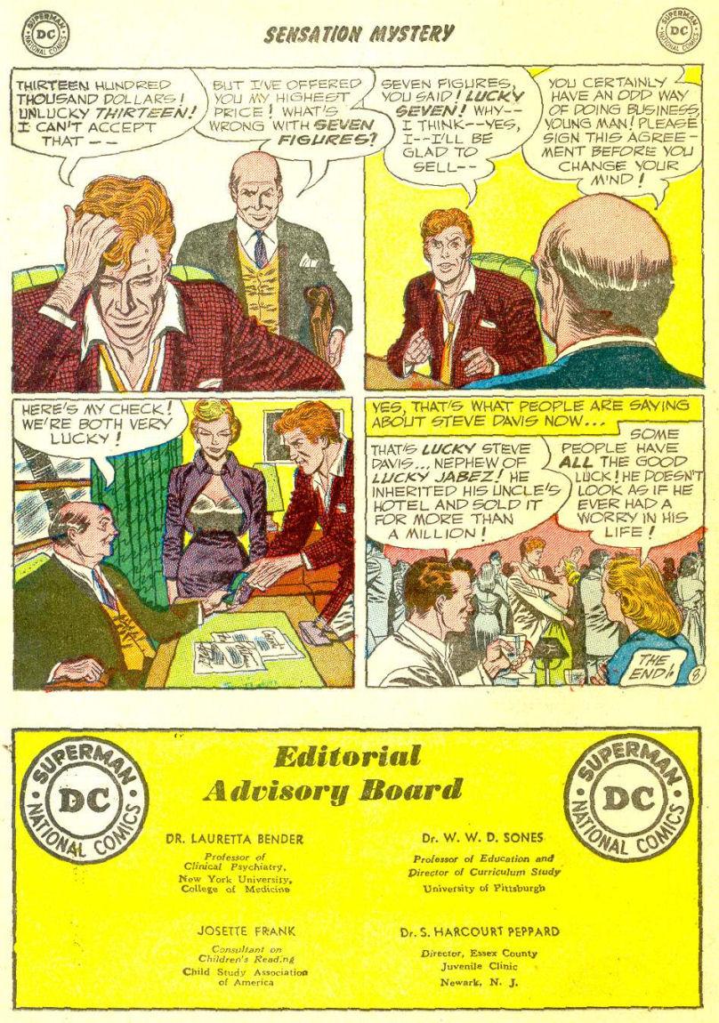 Read online Sensation (Mystery) Comics comic -  Issue #111 - 22