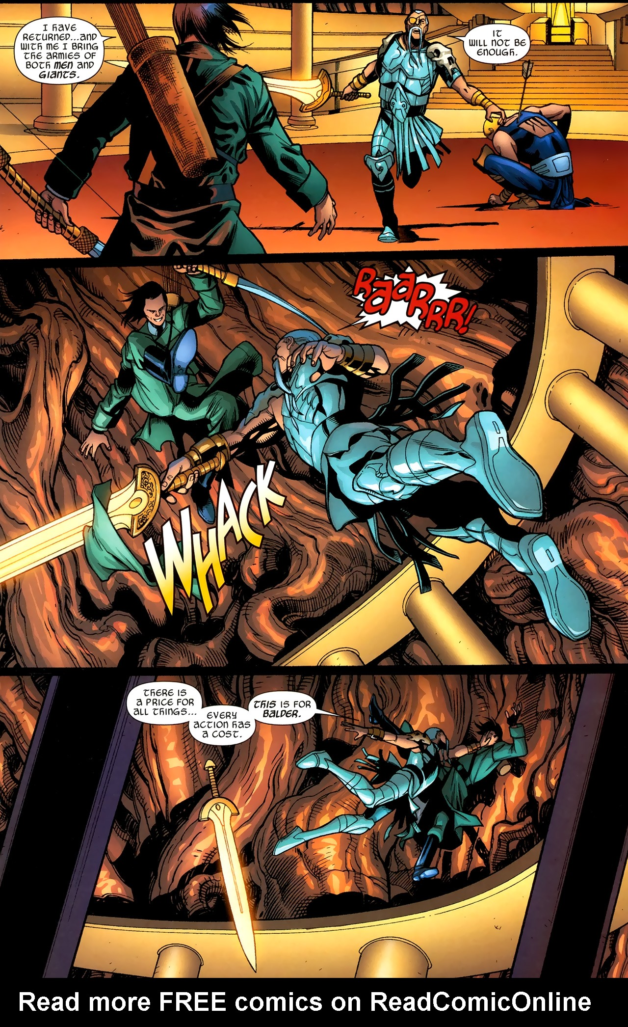 Read online Ultimate Thor comic -  Issue #3 - 17