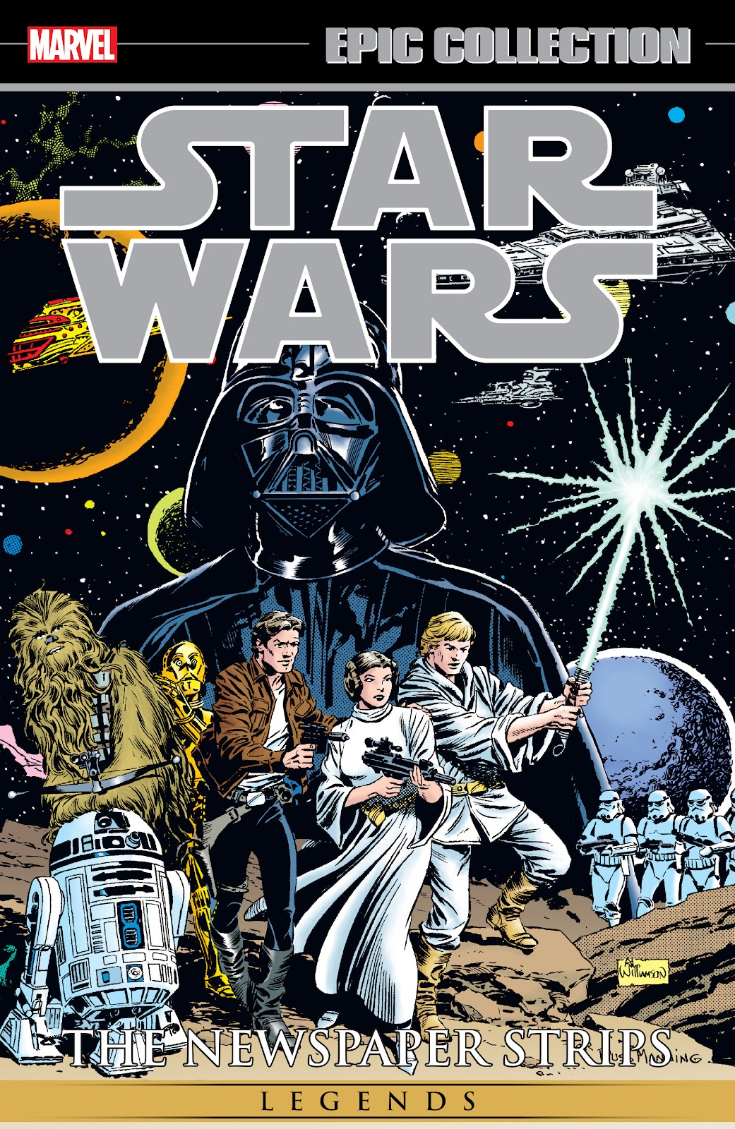 Read online Star Wars Legends: The Newspaper Strips - Epic Collection comic -  Issue # TPB (Part 1) - 1