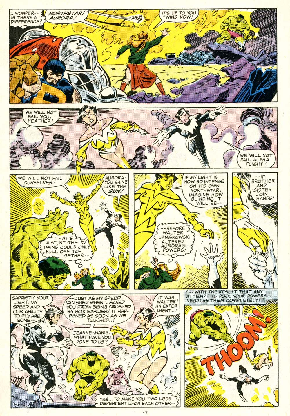 Read online Alpha Flight (1983) comic -  Issue #29 - 17