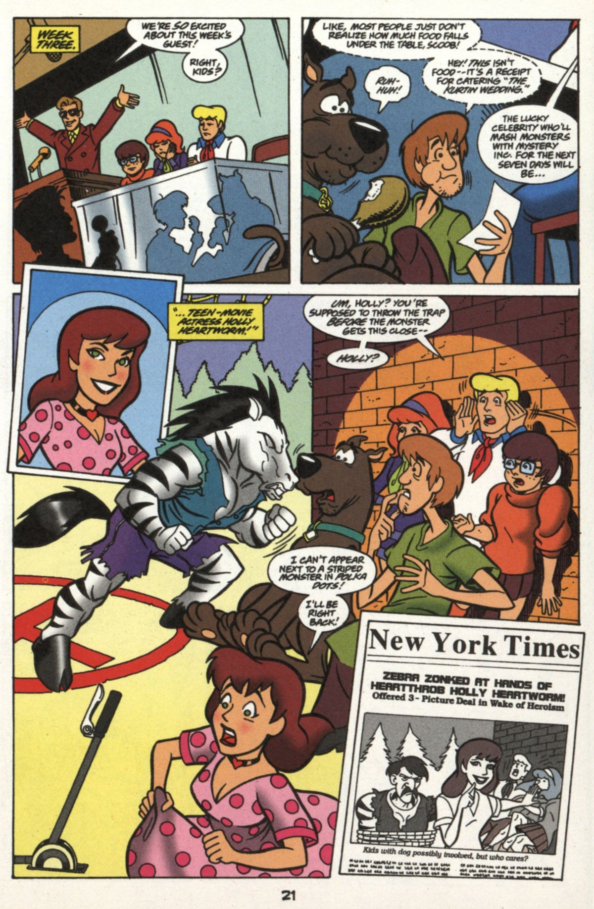 Read online Scooby-Doo (1997) comic -  Issue #16 - 20