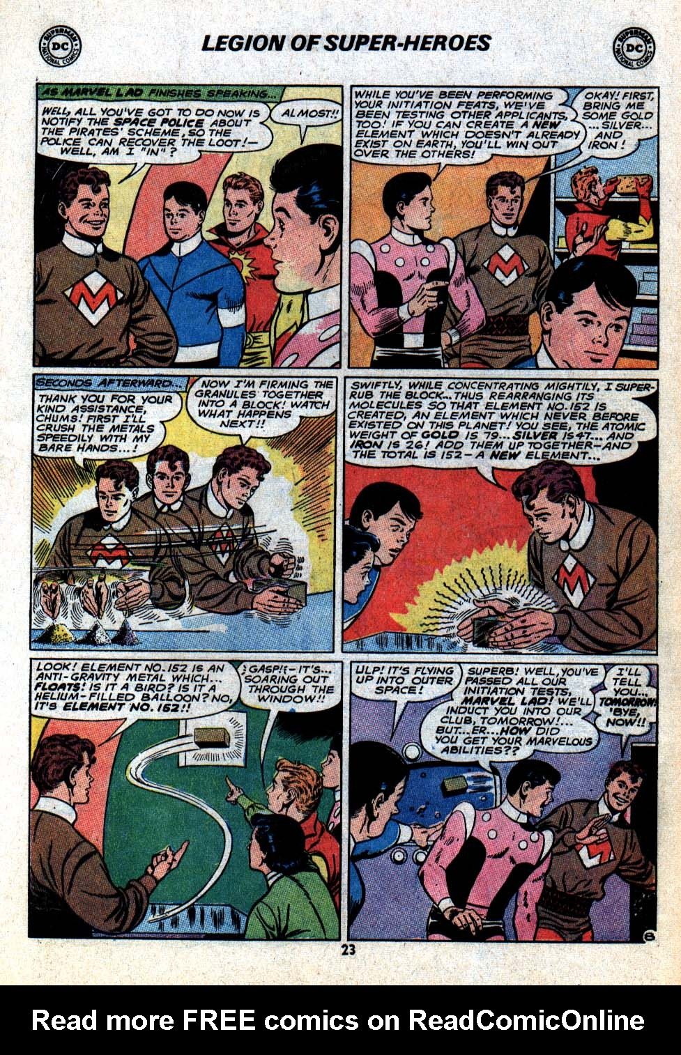Read online Adventure Comics (1938) comic -  Issue #403 - 25