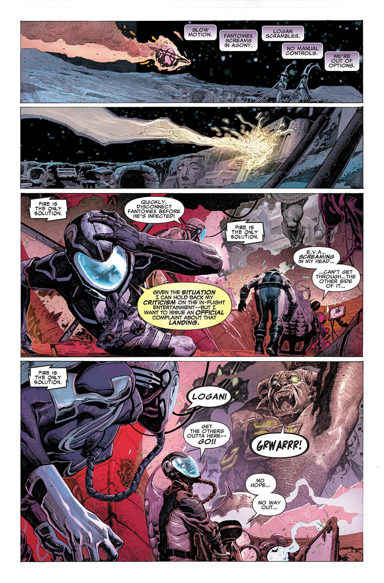 Read online Uncanny X-Force (2010) comic -  Issue #2 - 17