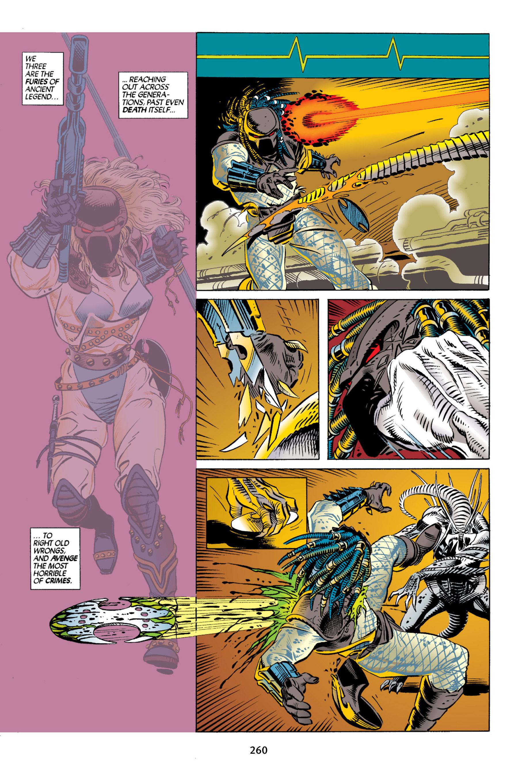 Read online Aliens vs. Predator Omnibus comic -  Issue # _TPB 2 Part 3 - 35