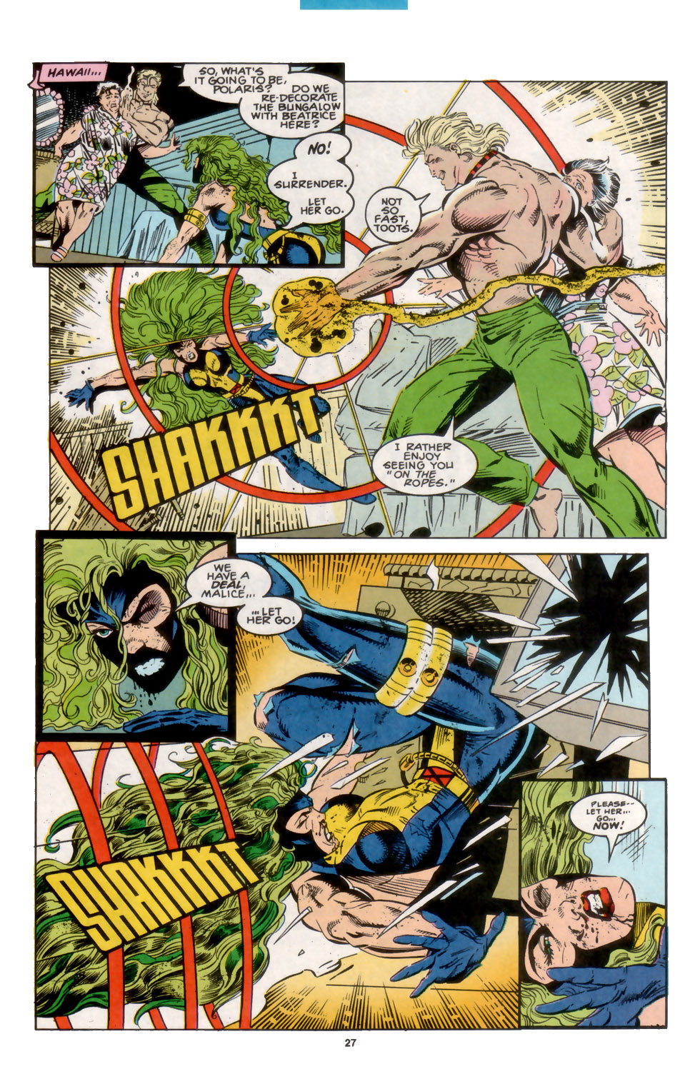 Read online X-Factor (1986) comic -  Issue #104 - 21