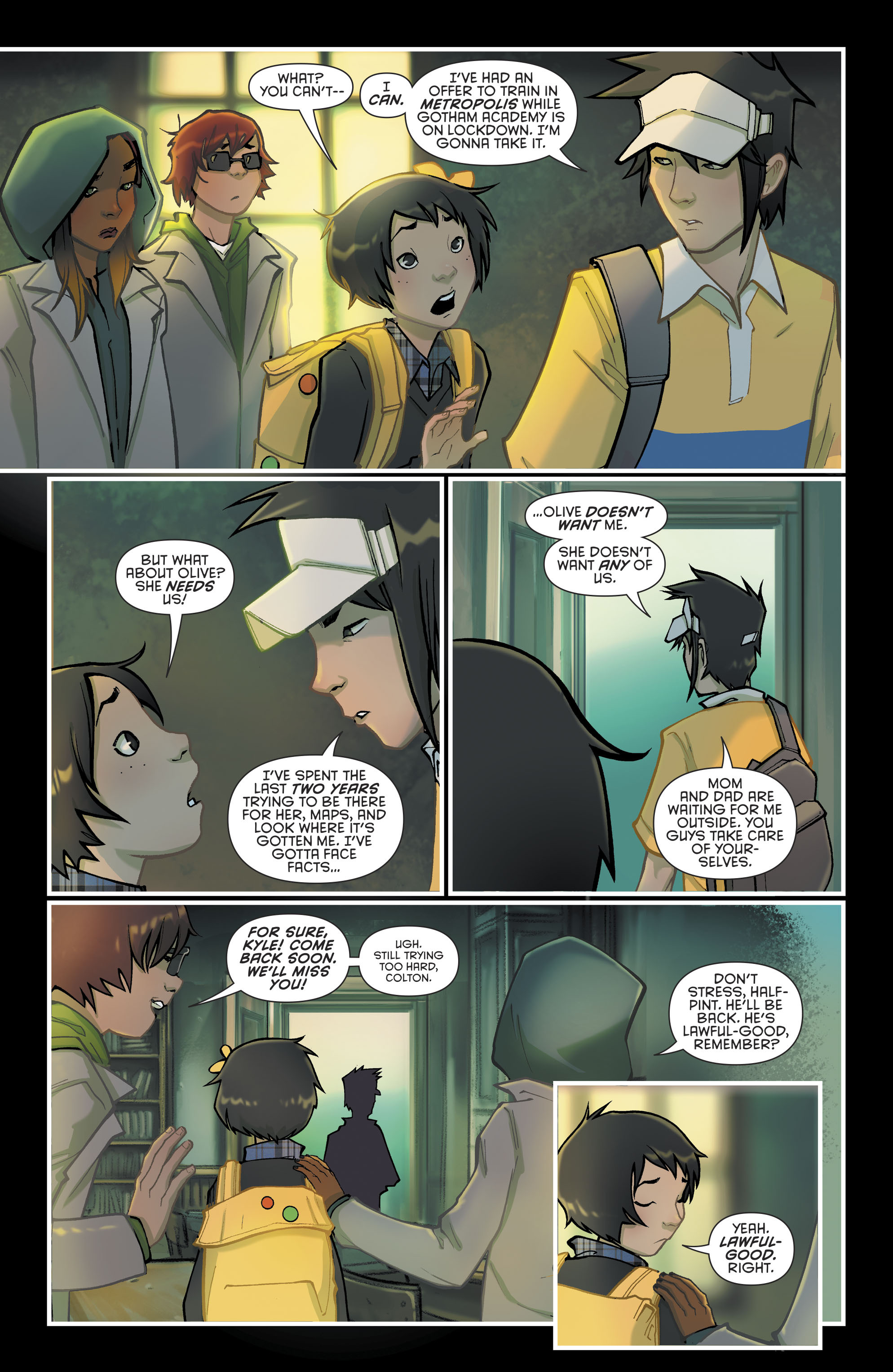 Read online Gotham Academy: Second Semester comic -  Issue #9 - 6