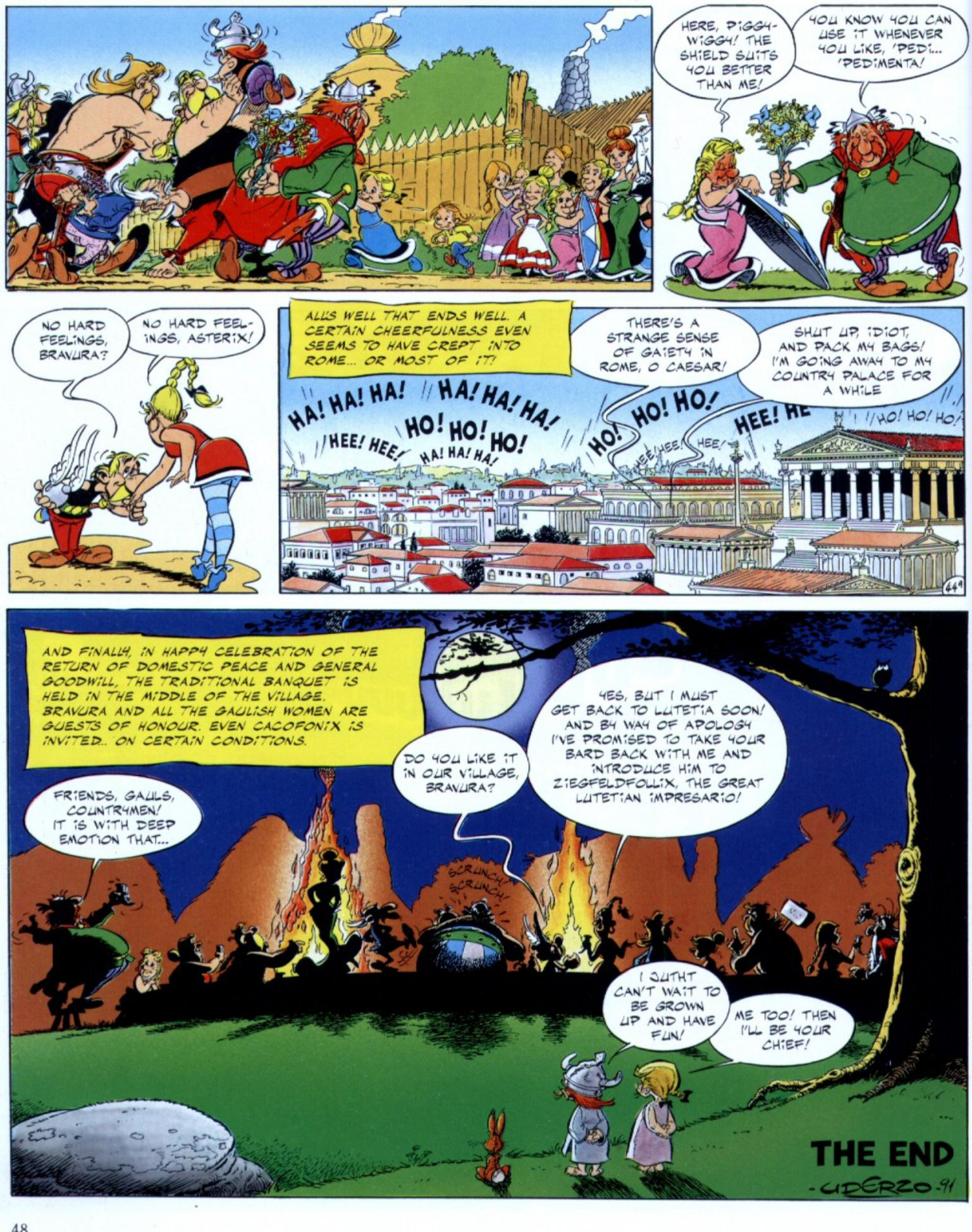Read online Asterix comic -  Issue #29 - 46