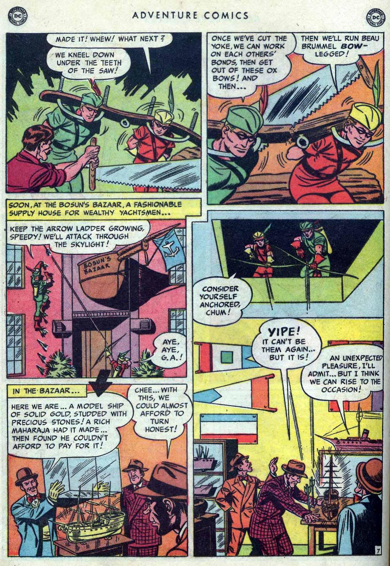 Read online Adventure Comics (1938) comic -  Issue #149 - 36