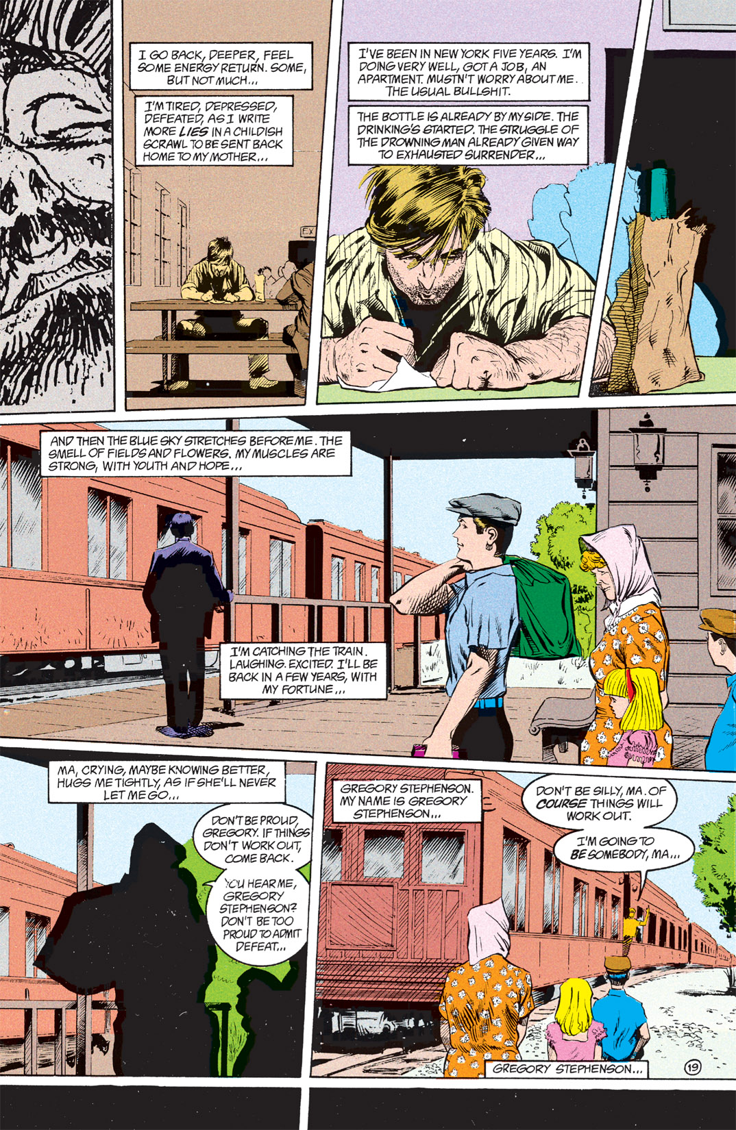 Read online Shade, the Changing Man comic -  Issue #7 - 20